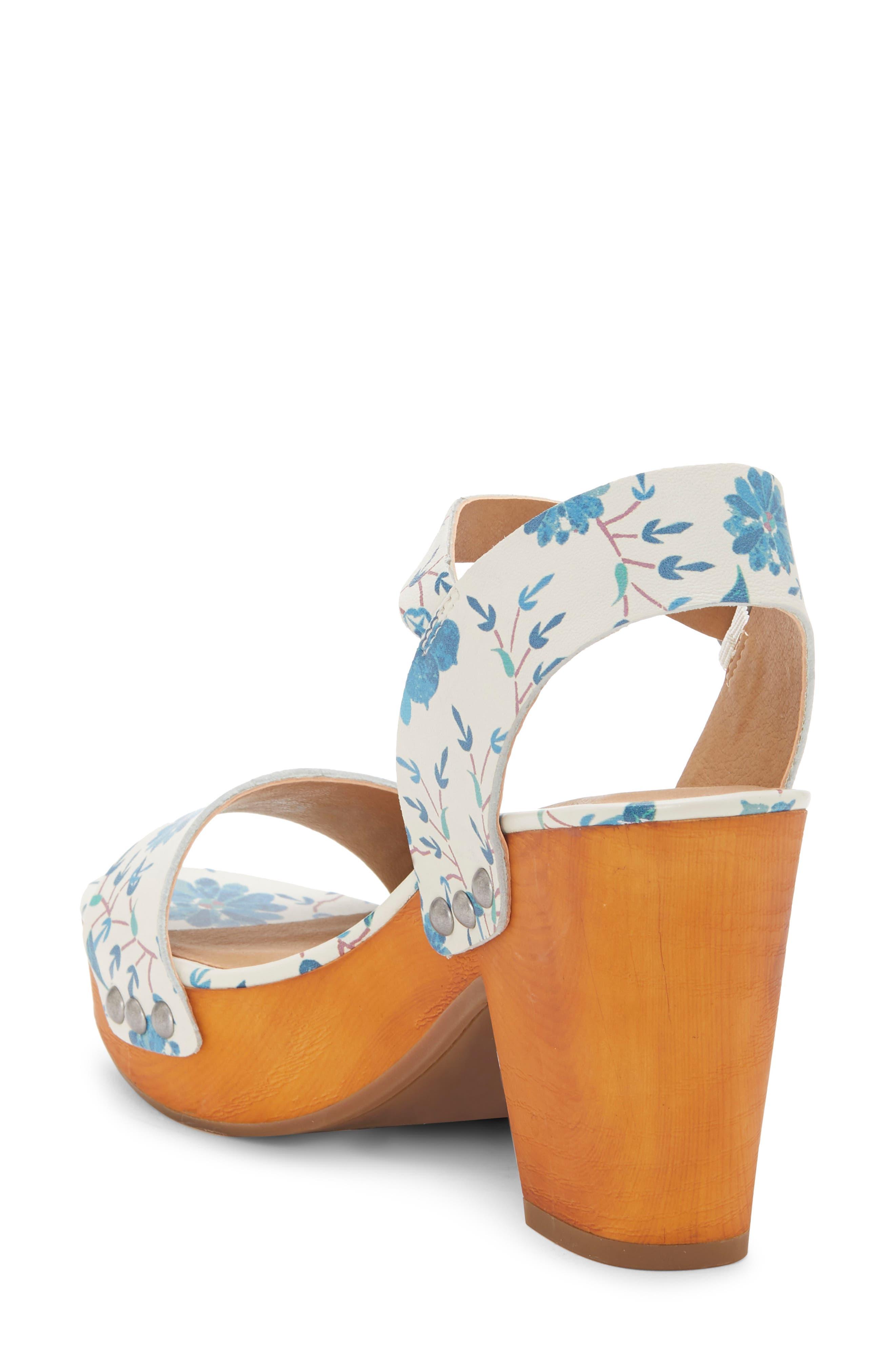 LUCKY BRAND, Trisa Platform Sandal, Alternate thumbnail 2, color, BIRCH LEATHER