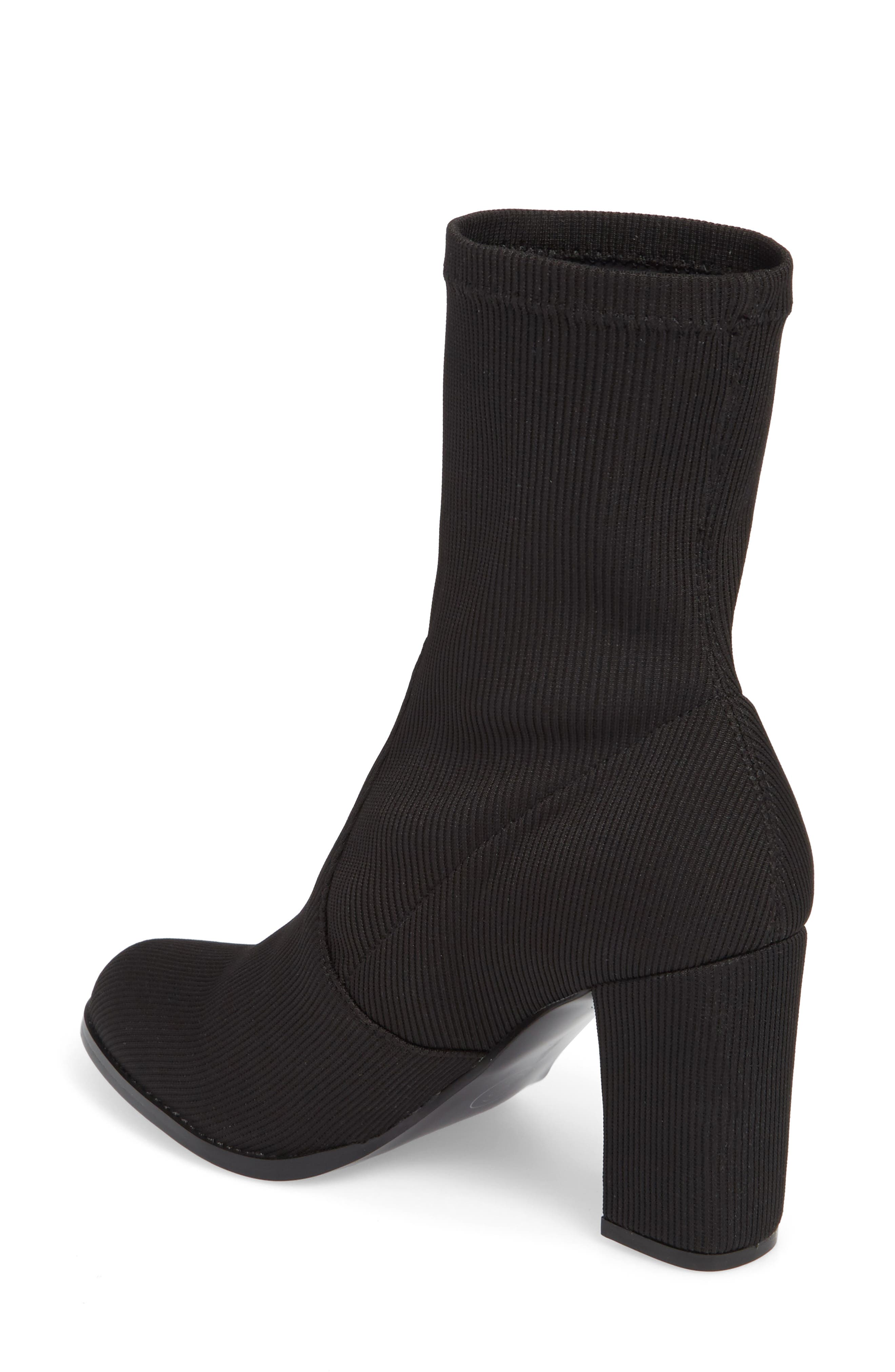 CHINESE LAUNDRY, Craze Bootie, Alternate thumbnail 2, color, BLACK FABRIC