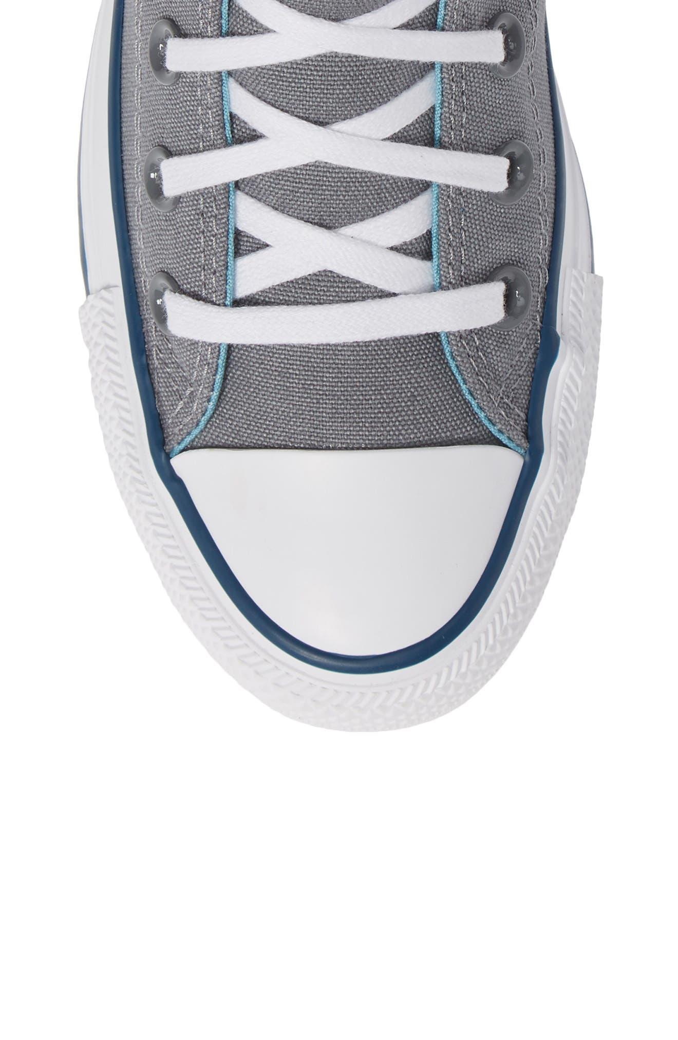 CONVERSE, Chuck Taylor<sup>®</sup> All Star<sup>®</sup> Seasonal Hi Sneaker, Alternate thumbnail 5, color, 039