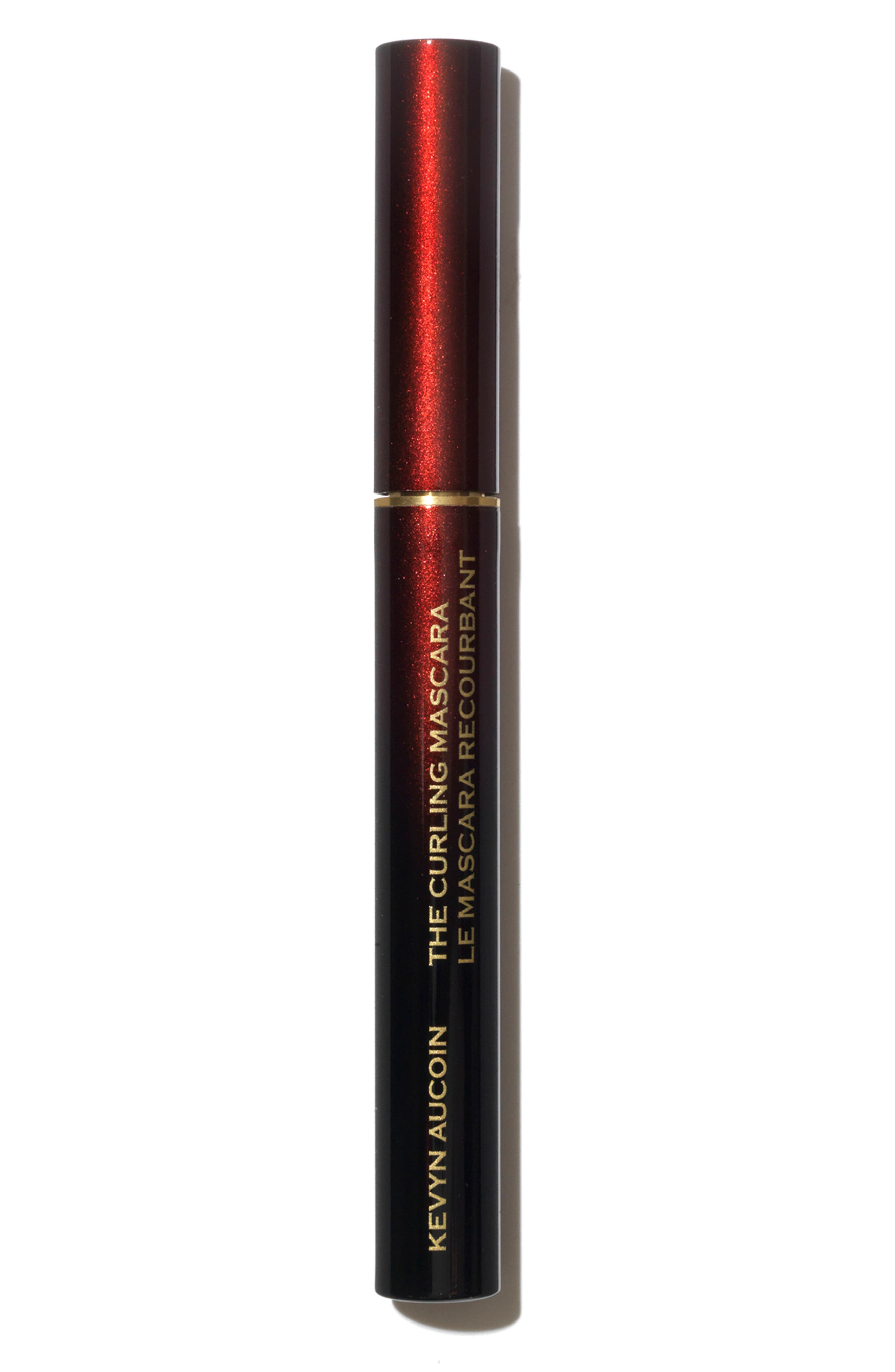 KEVYN AUCOIN BEAUTY, SPACE.NK.apothecary Kevyn Aucoin Beauty The Curling Mascara, Alternate thumbnail 3, color, RICH PITCH BLACK