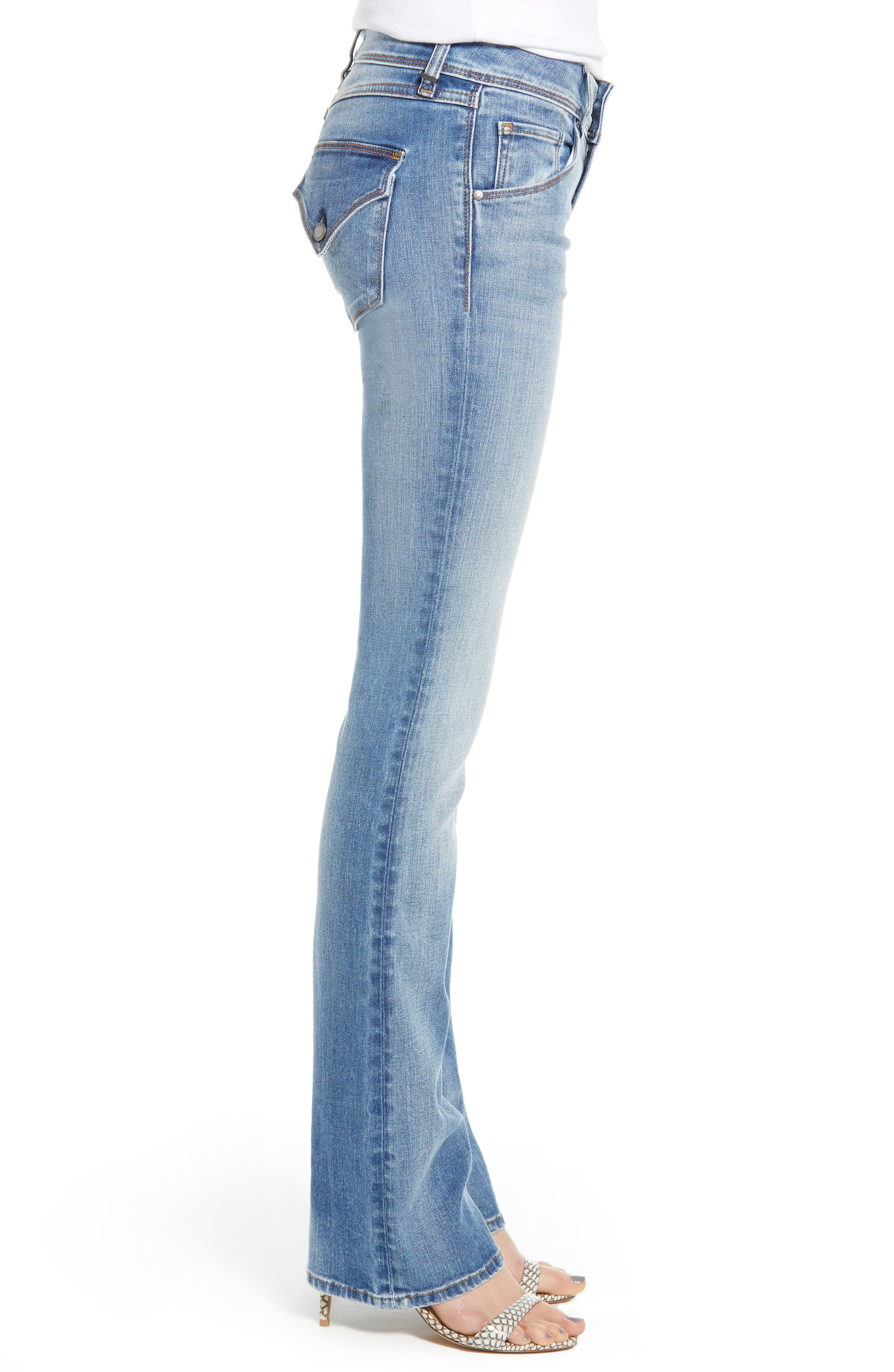 HUDSON JEANS, Beth Baby Bootcut Jeans, Alternate thumbnail 4, color, PREPARTY