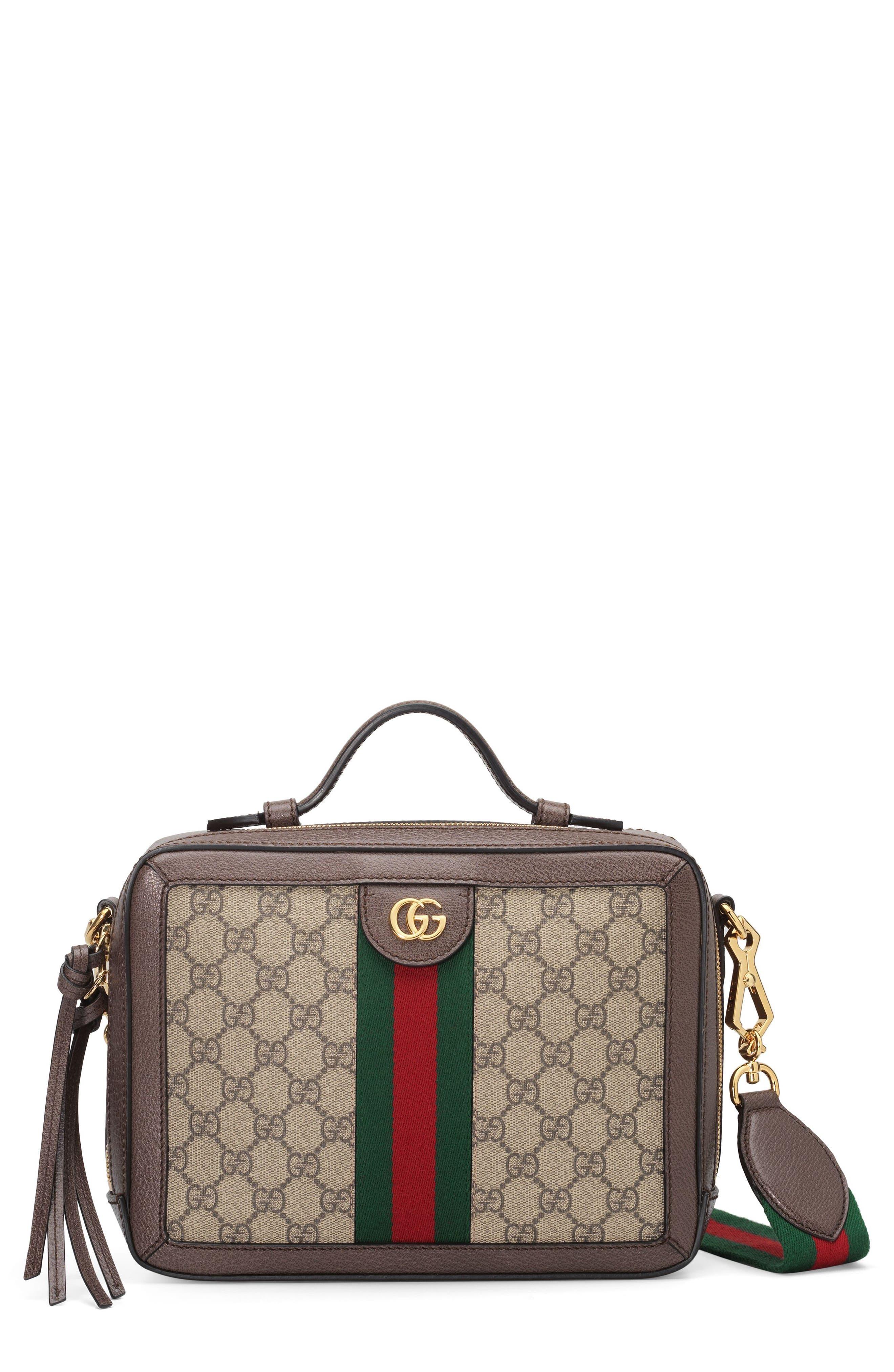 GUCCI Small Ophidia GG Supreme Canvas Shoulder Bag, Main, color, 250