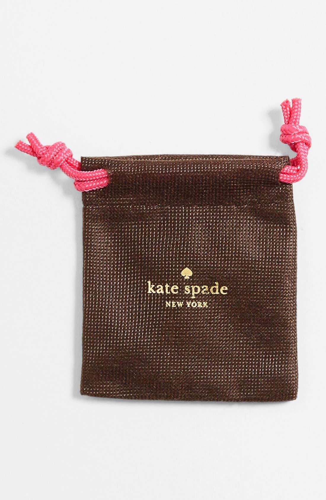 KATE SPADE NEW YORK 'skinny mini' bow stud earrings, Main, color, 040