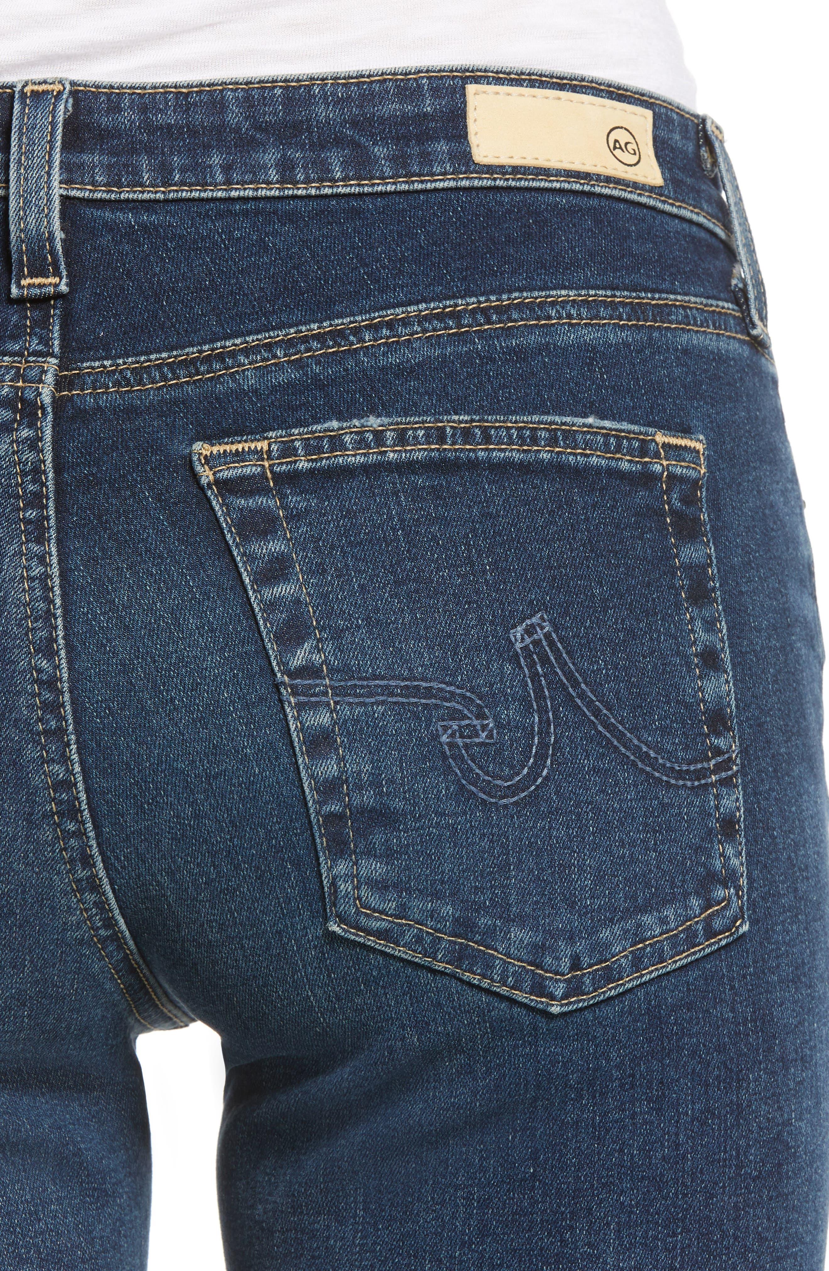 AG, Angel Flare Jeans, Alternate thumbnail 5, color, 10Y TRANSCENDENCE