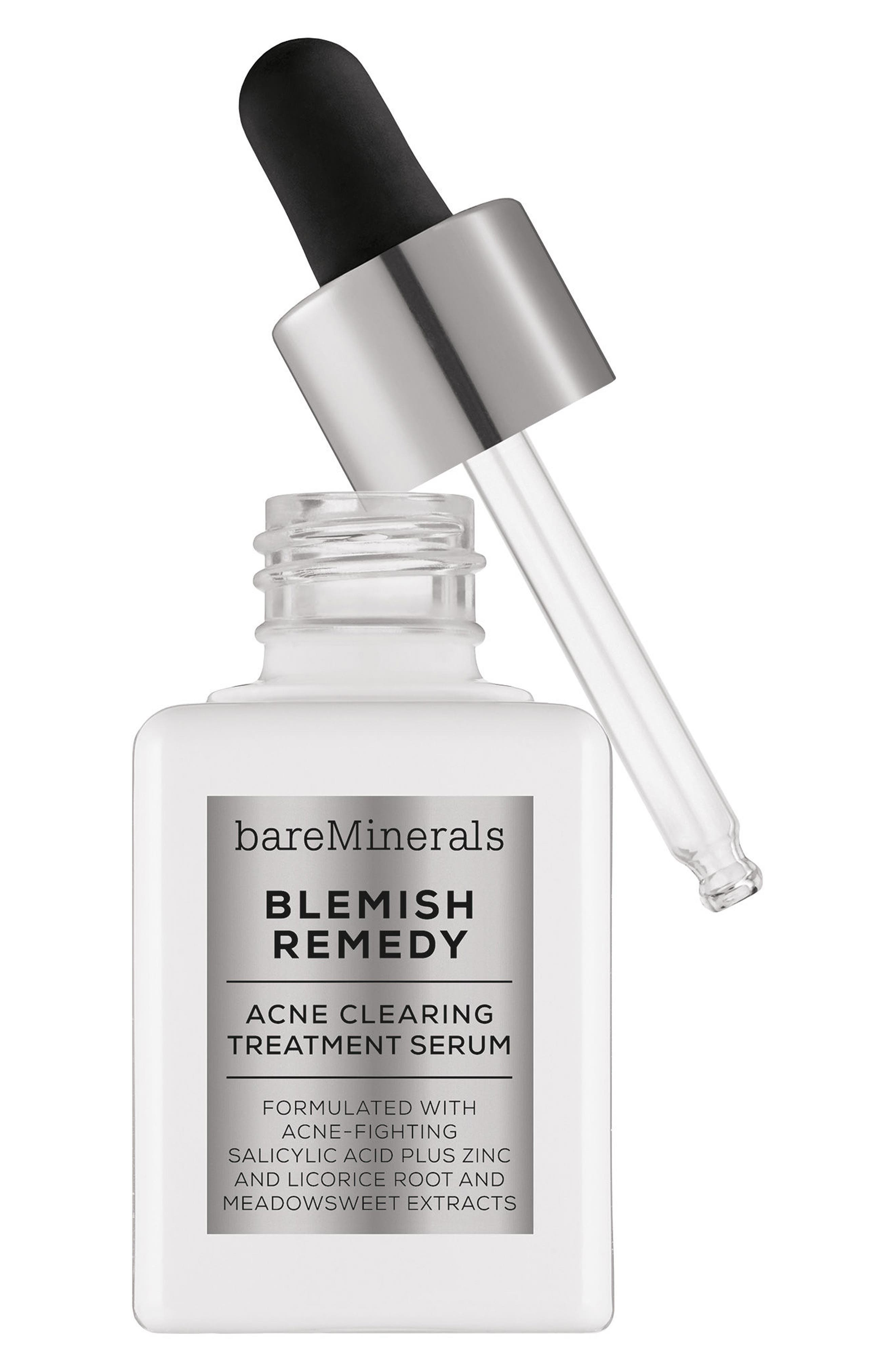 BAREMINERALS<SUP>®</SUP> Blemish Remedy<sup>®</sup> Acne Clearing Treatment Serum, Main, color, NO COLOR
