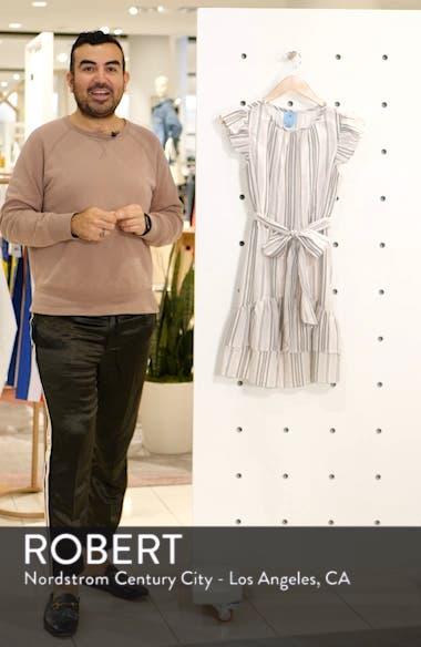 Ruffle Flutter Sleeve Dress, sales video thumbnail