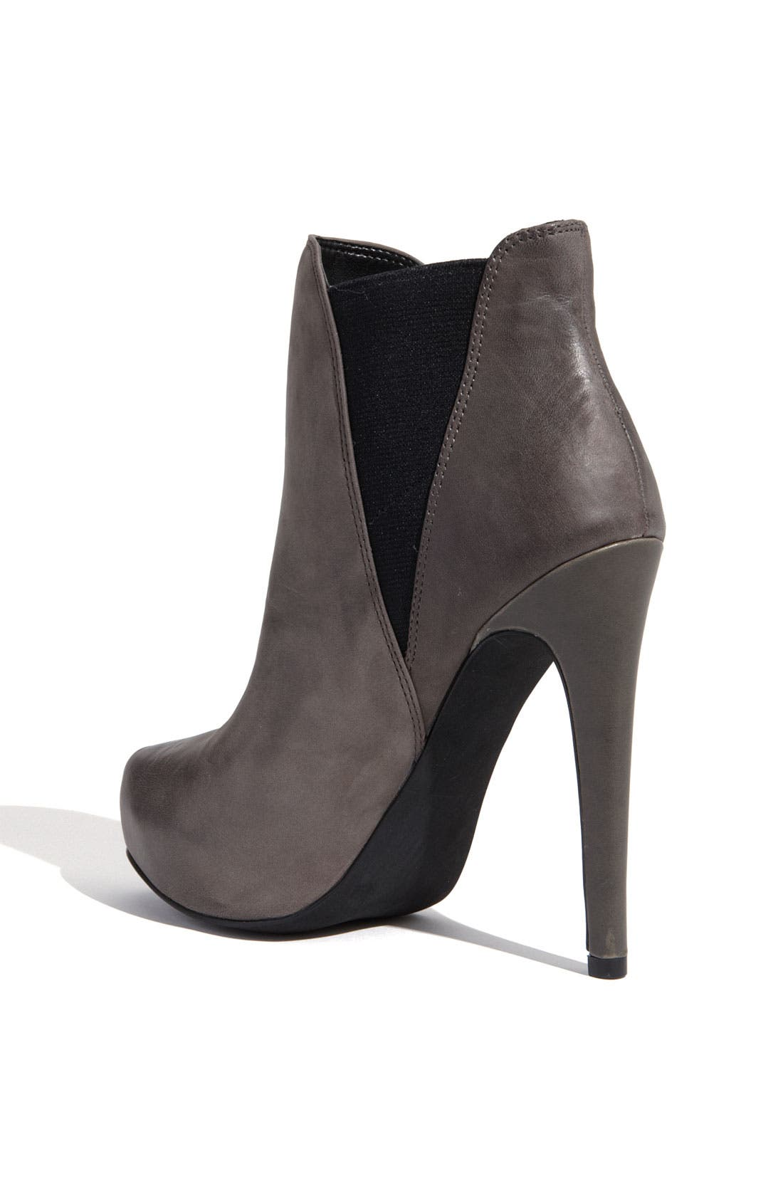JESSICA SIMPSON, 'Francis' Bootie, Alternate thumbnail 4, color, 020