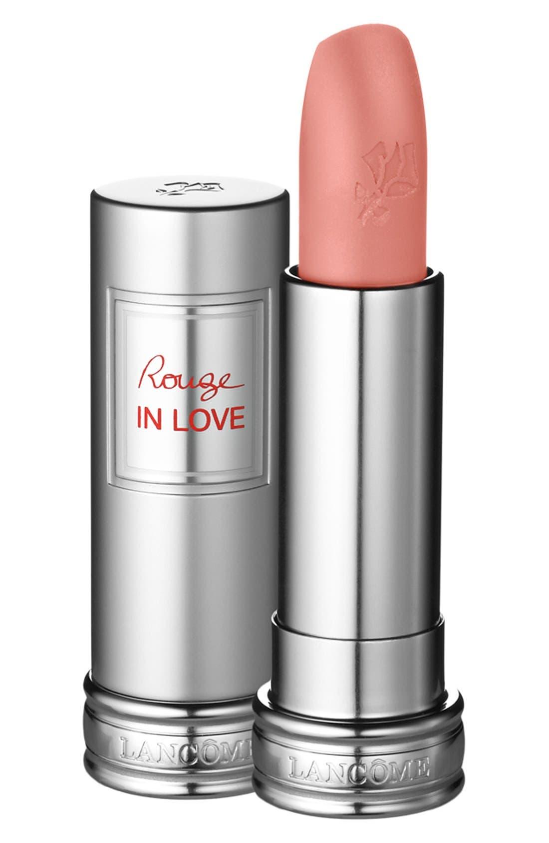 LANCÔME, Rouge in Love Lipstick, Main thumbnail 1, color, 620