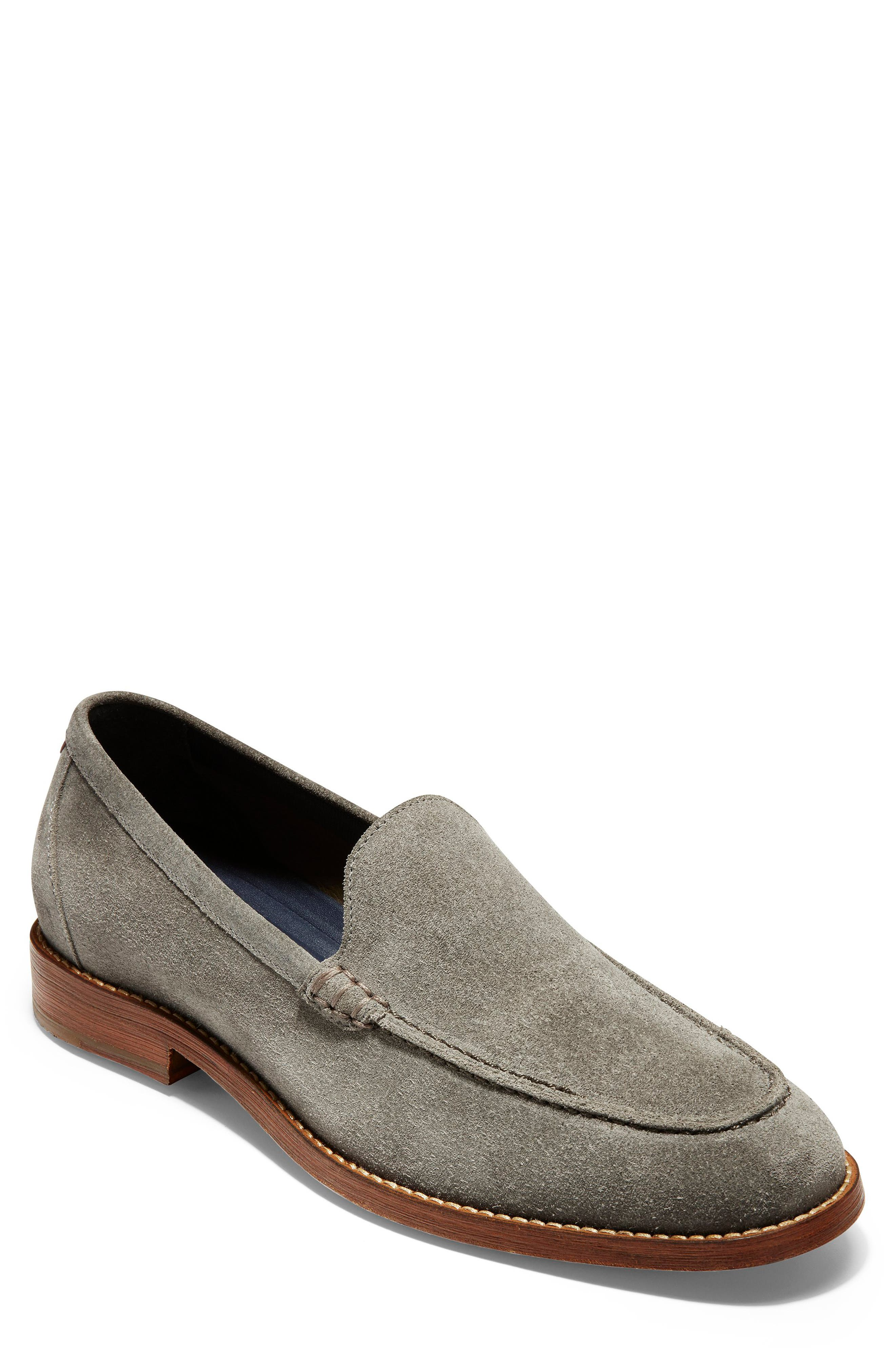 Cole Haan Feathercraft Grand Venetian Loafer, Grey