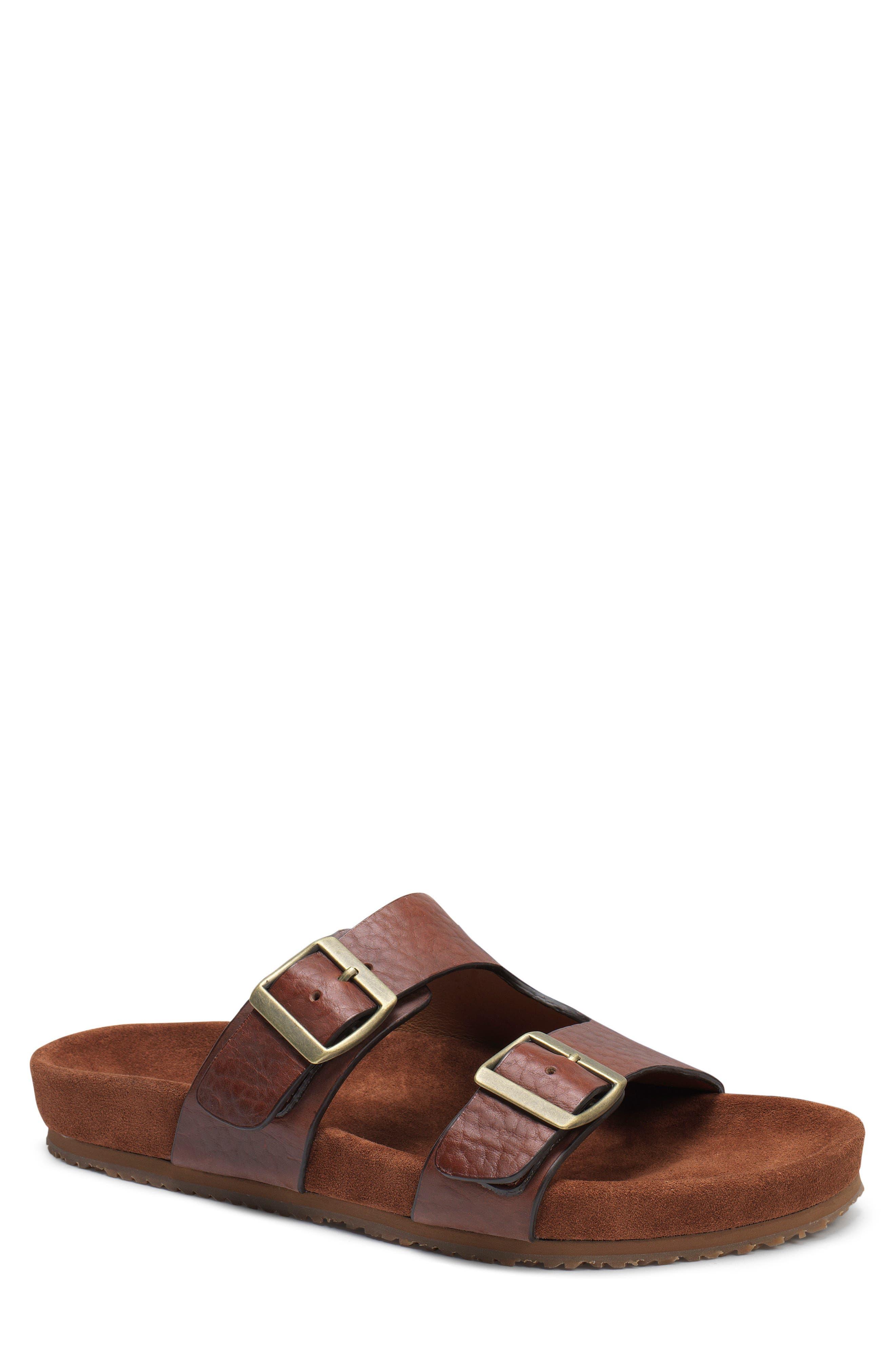 Trask Findley Slide Sandal, Brown