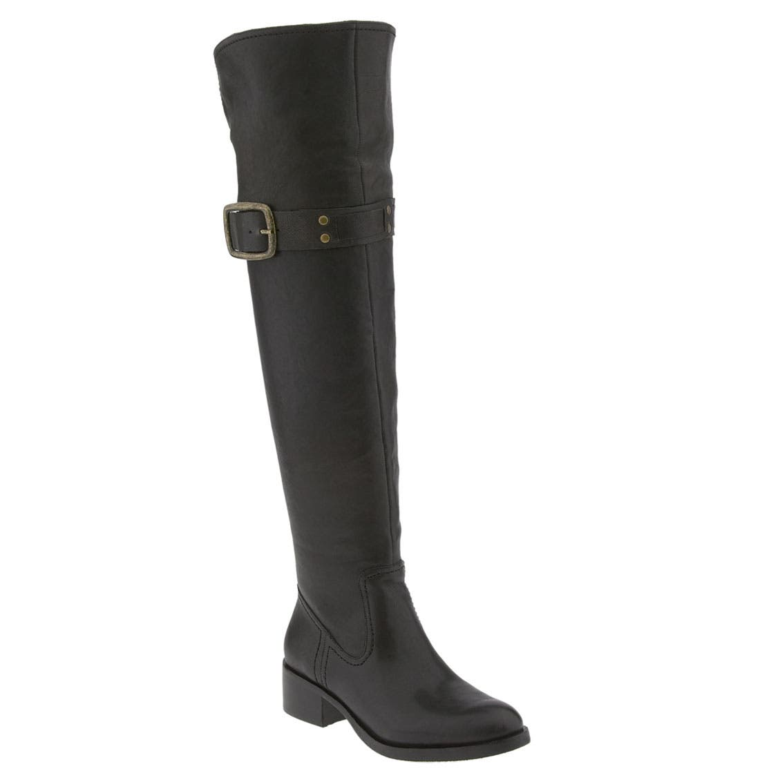 JESSICA SIMPSON, 'Clancey' Over the Knee Boot, Main thumbnail 1, color, 001
