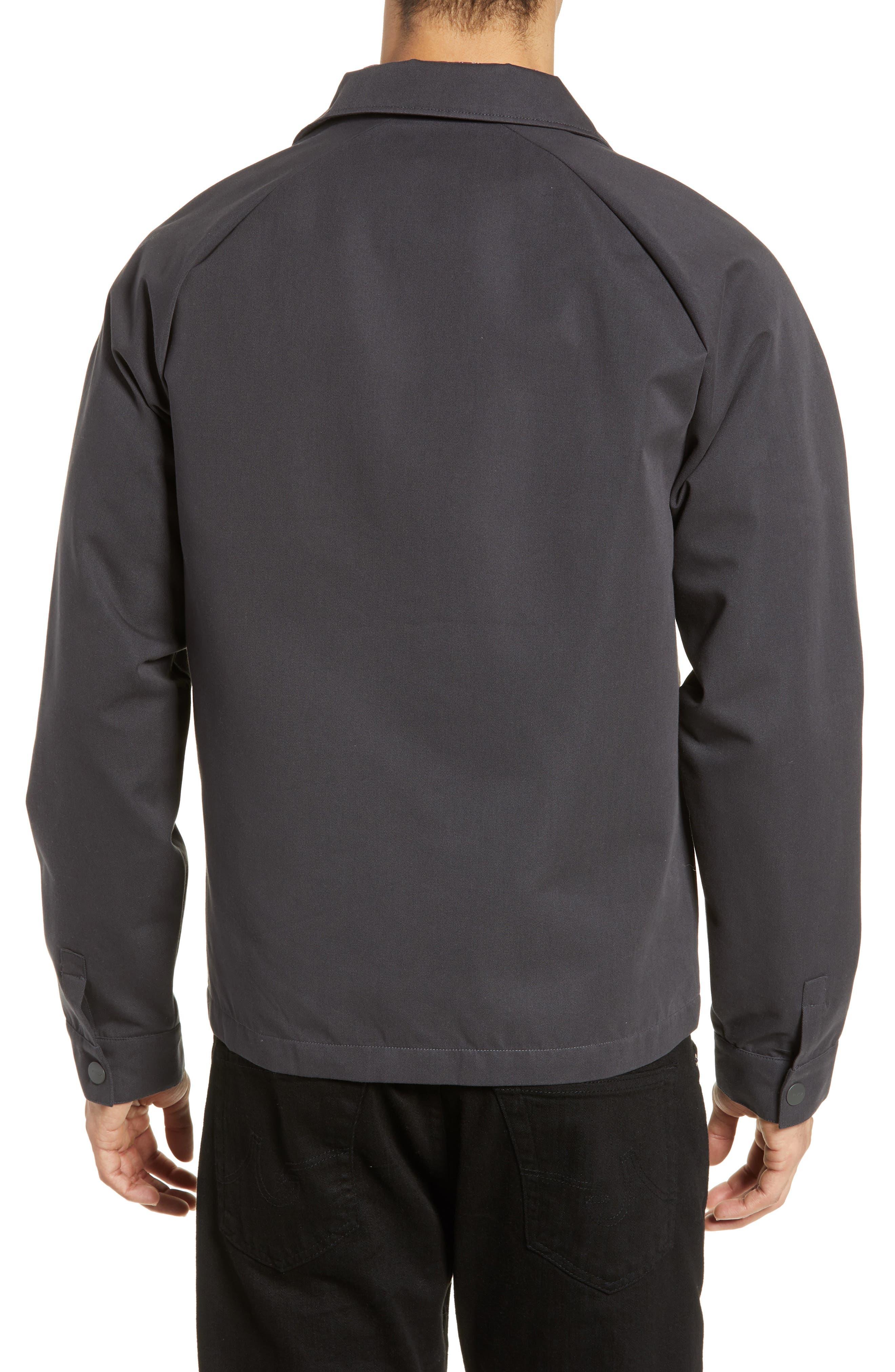RVCA, Gerrard Jacket, Alternate thumbnail 2, color, PIRATE BLACK