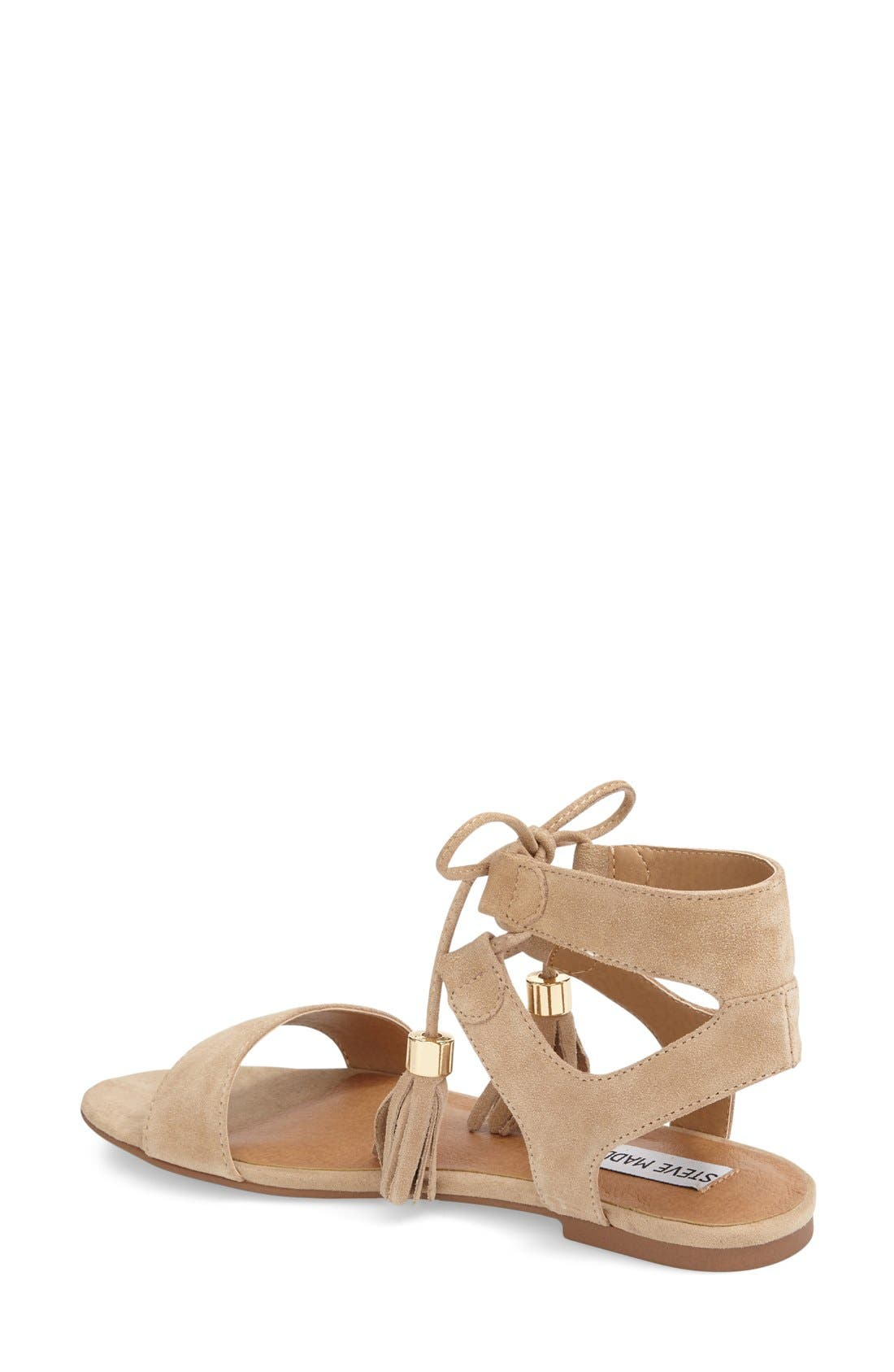 STEVE MADDEN, 'Elivait' Sandal, Alternate thumbnail 2, color, 250