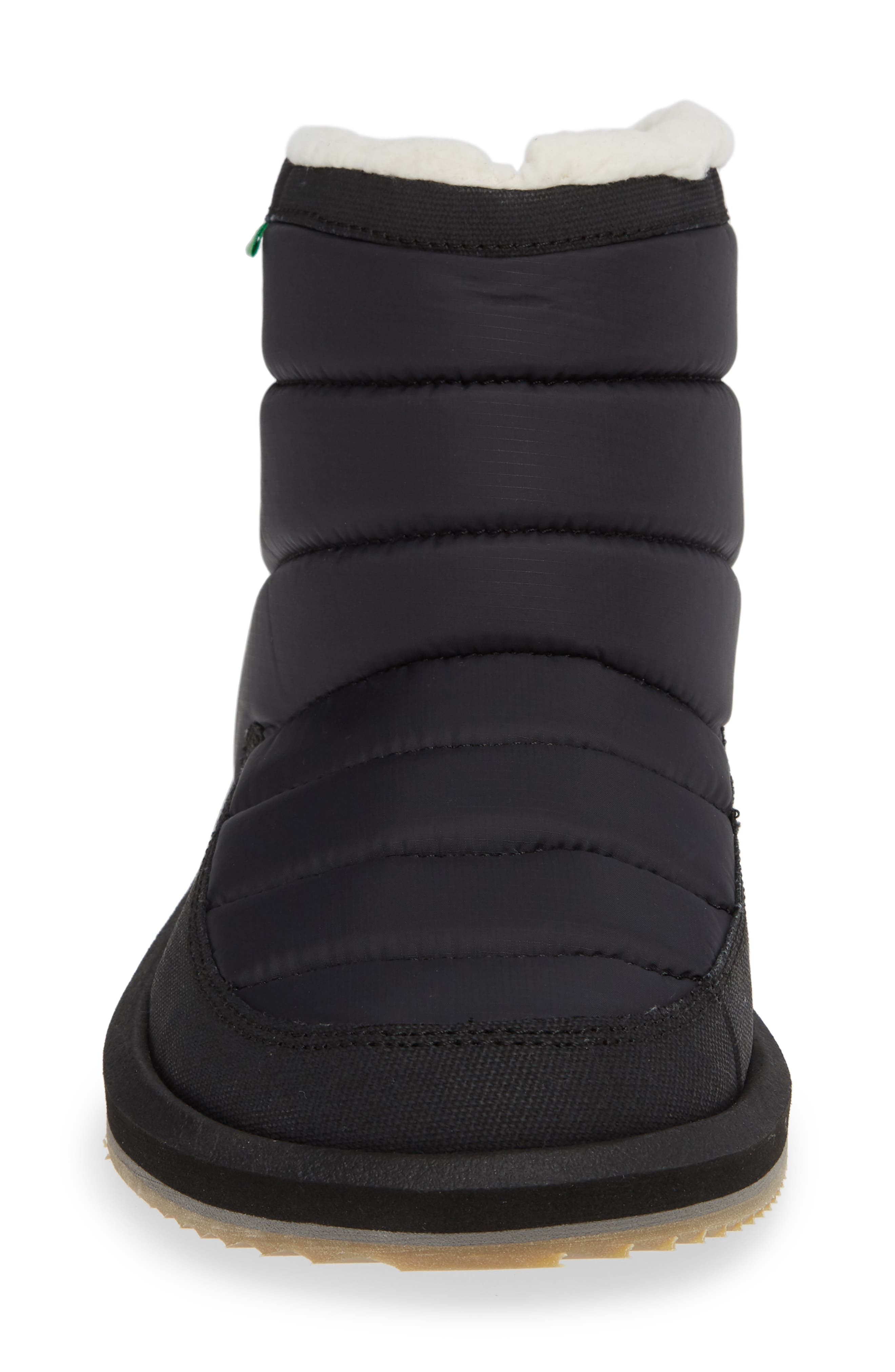SANUK, Puff & Chill Weather Boot, Alternate thumbnail 4, color, 001