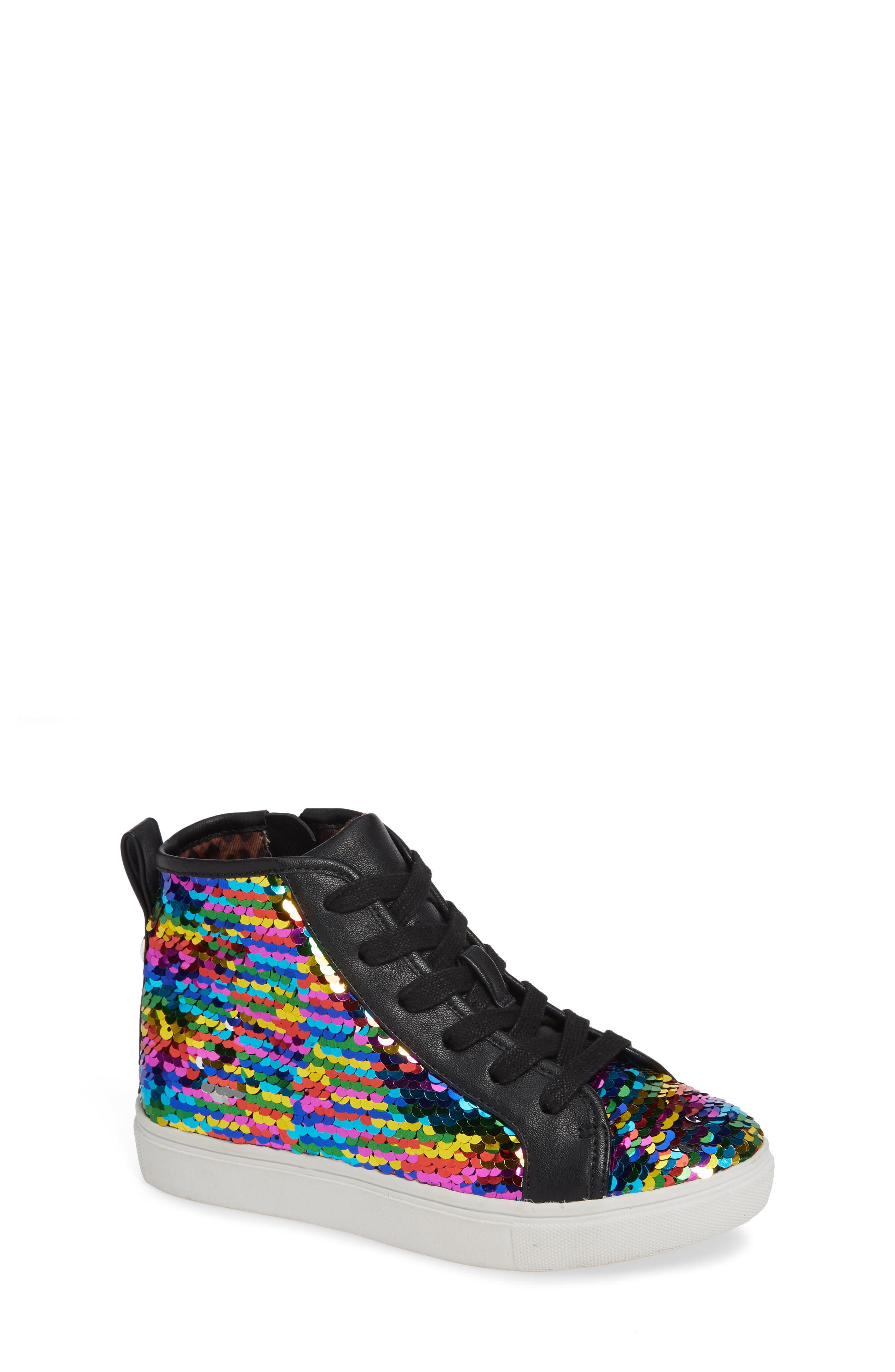 STEVE MADDEN, JSEEKER Sneaker, Main thumbnail 1, color, MULTI