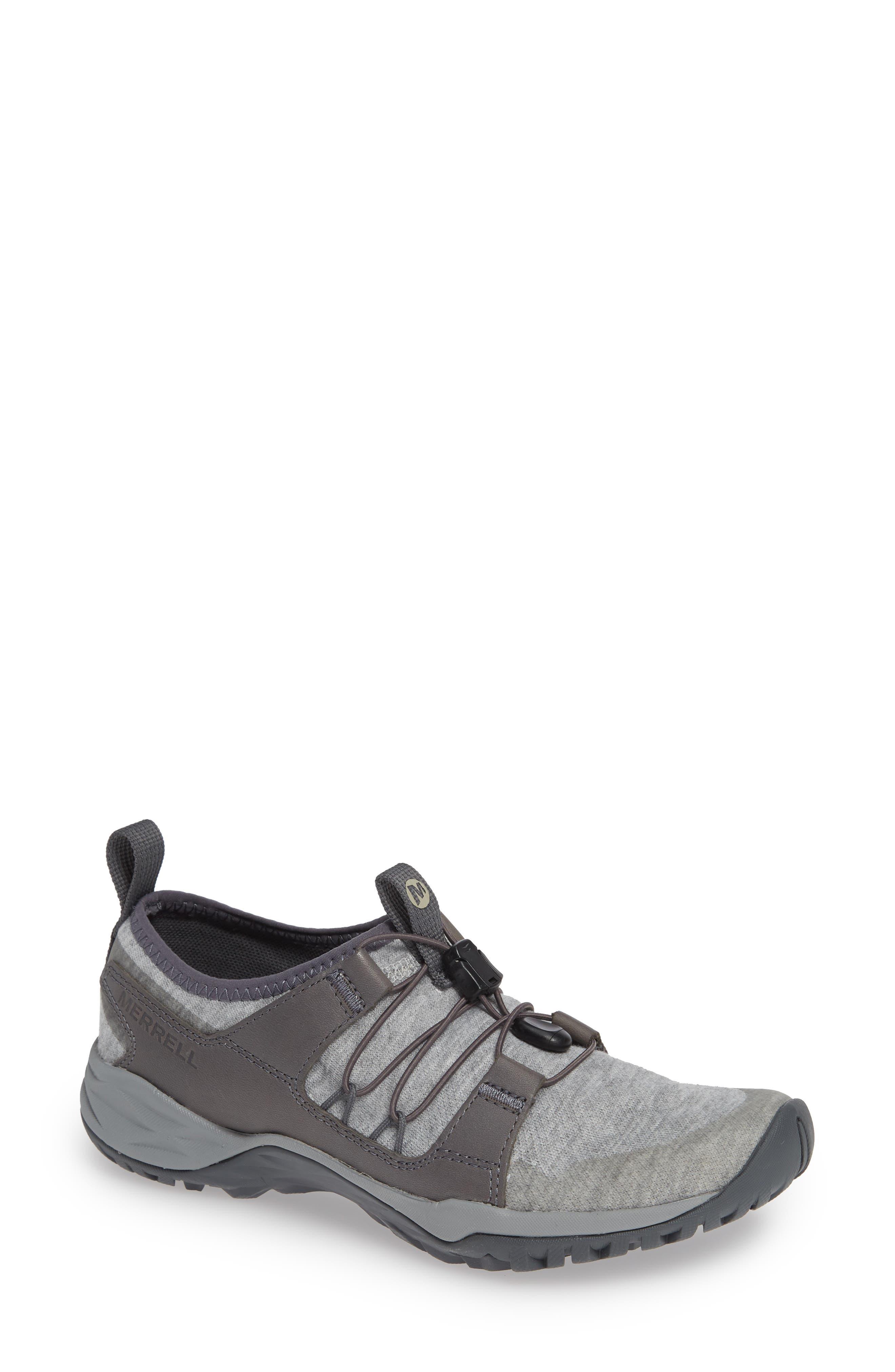 MERRELL, Siren Guided Knit Q2 Sneaker, Main thumbnail 1, color, 050