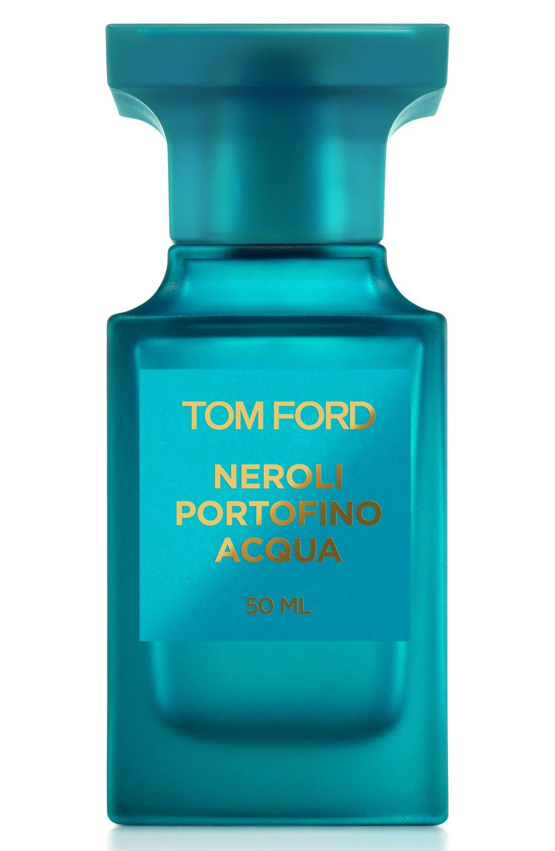 TOM FORD, Private Blend Neroli Portofino Acqua Eau de Toilette, Main thumbnail 1, color, NO COLOR