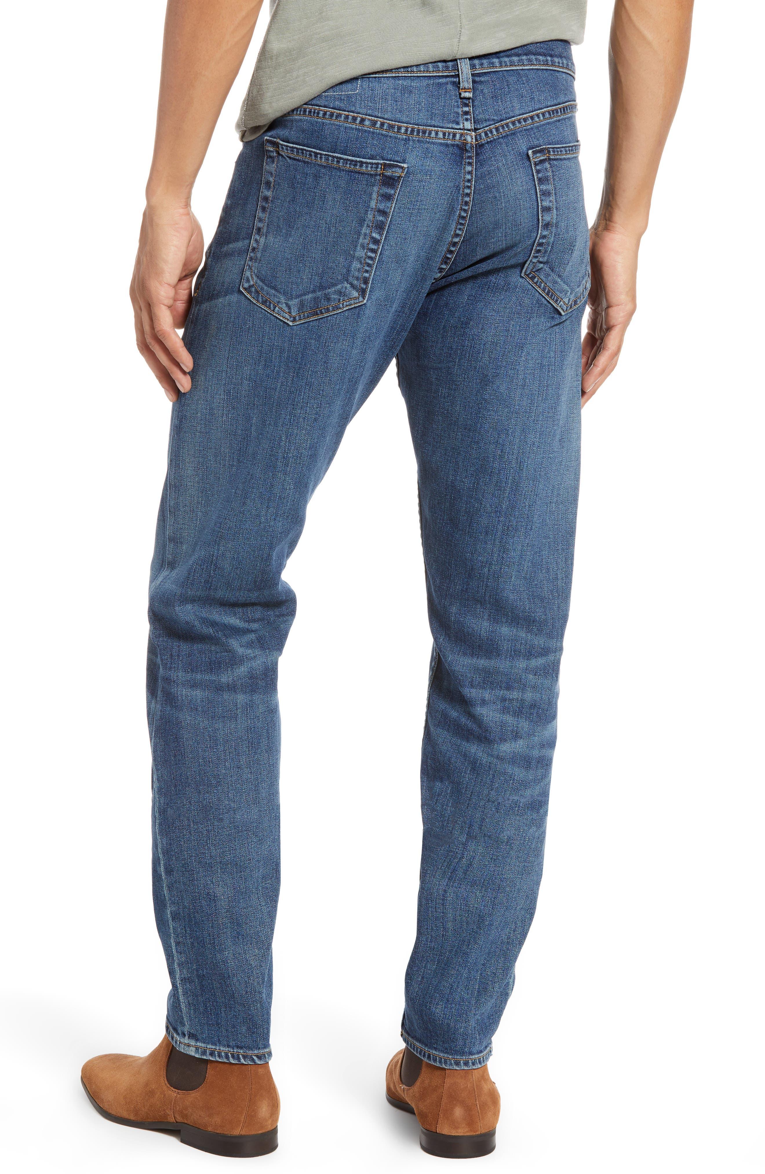 RAG & BONE, Fit 2 Slim Fit Jeans, Alternate thumbnail 2, color, THROOP
