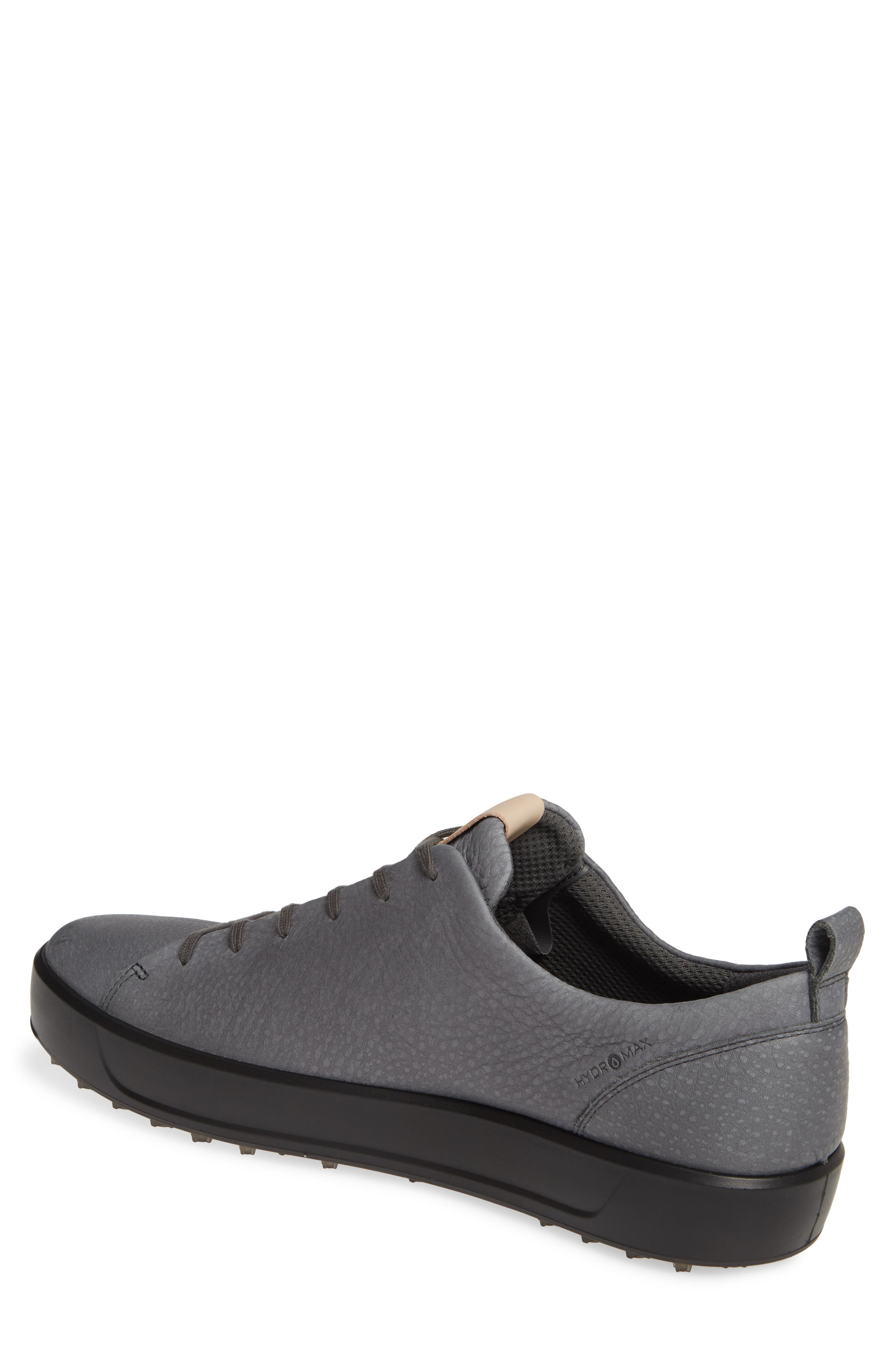 ECCO, Hydromax<sup>®</sup> Golf Shoe, Alternate thumbnail 2, color, DARK SHADOW LEATHER