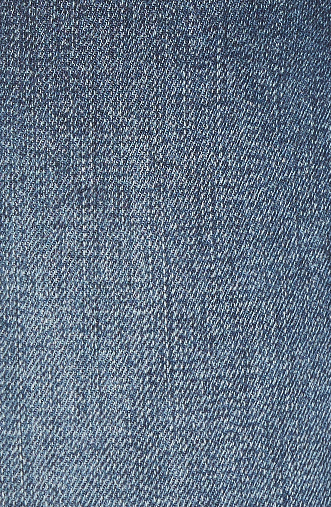 WIT & WISDOM, Ab-Solution High Waist Skinny Jeans, Alternate thumbnail 6, color, BLUE