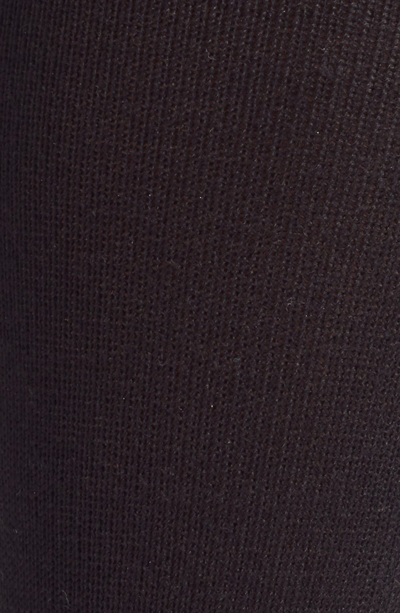 NORDSTROM MEN'S SHOP, Ultra Soft Socks, Alternate thumbnail 2, color, BLACK