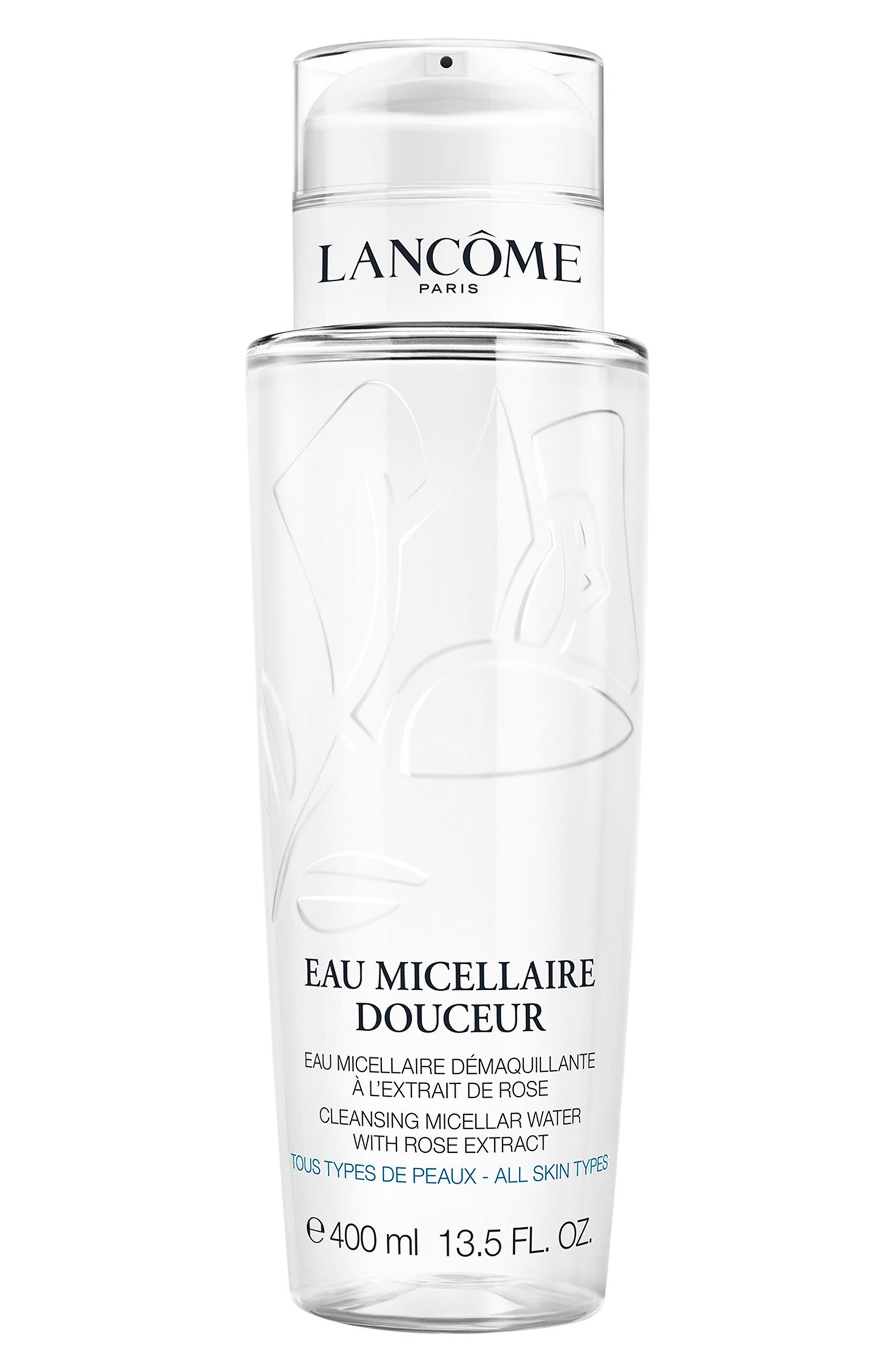 LANCÔME, Eau Fraîche Douceur Micellar Cleansing Water, Main thumbnail 1, color, NO COLOR