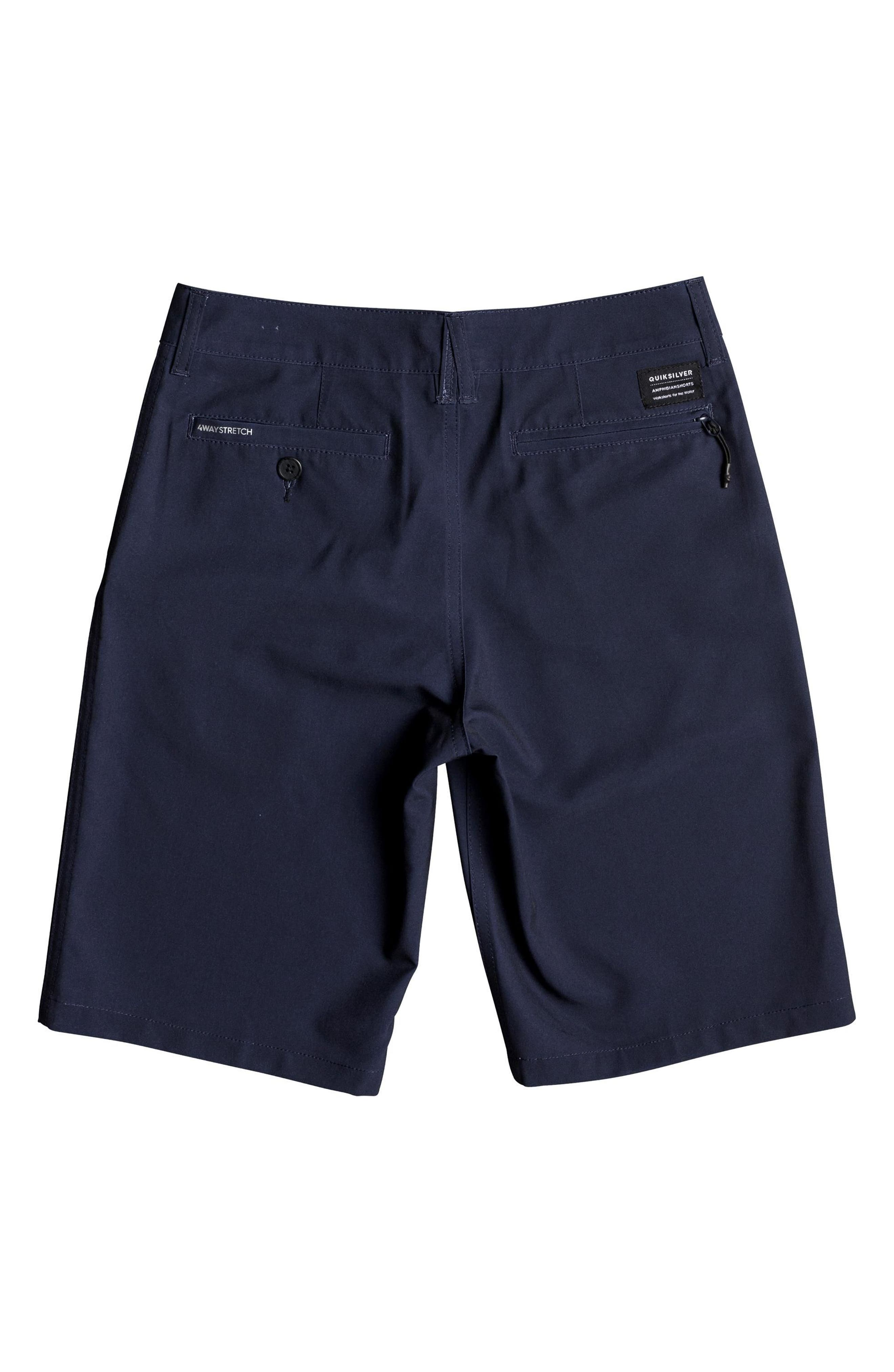 QUIKSILVER, Union Amphibian Hybrid Shorts, Alternate thumbnail 2, color, NAVY BLAZER