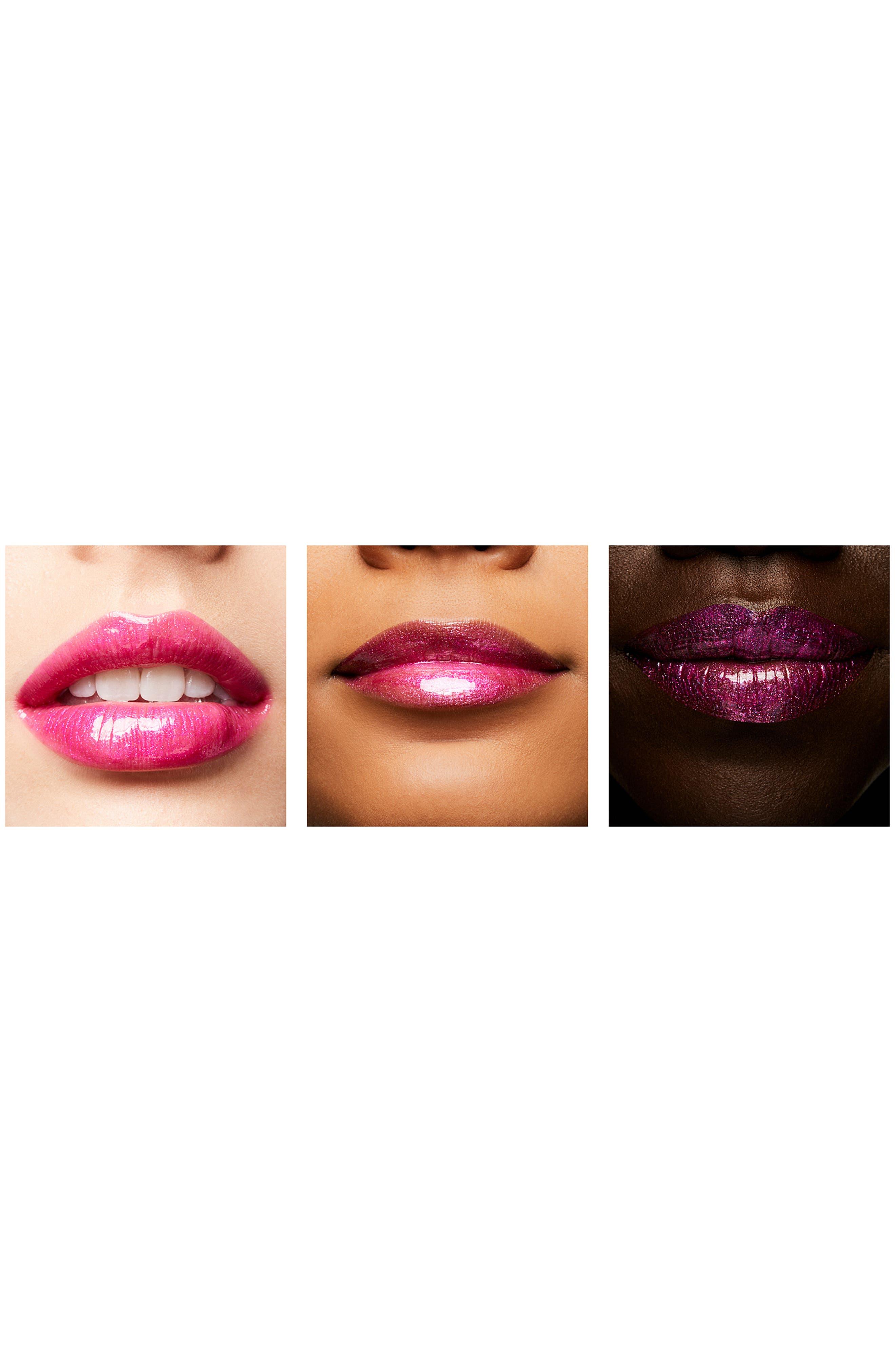 MAC COSMETICS, MAC Shiny Pretty Things Lipglass, Alternate thumbnail 2, color, TUDOR ROSE