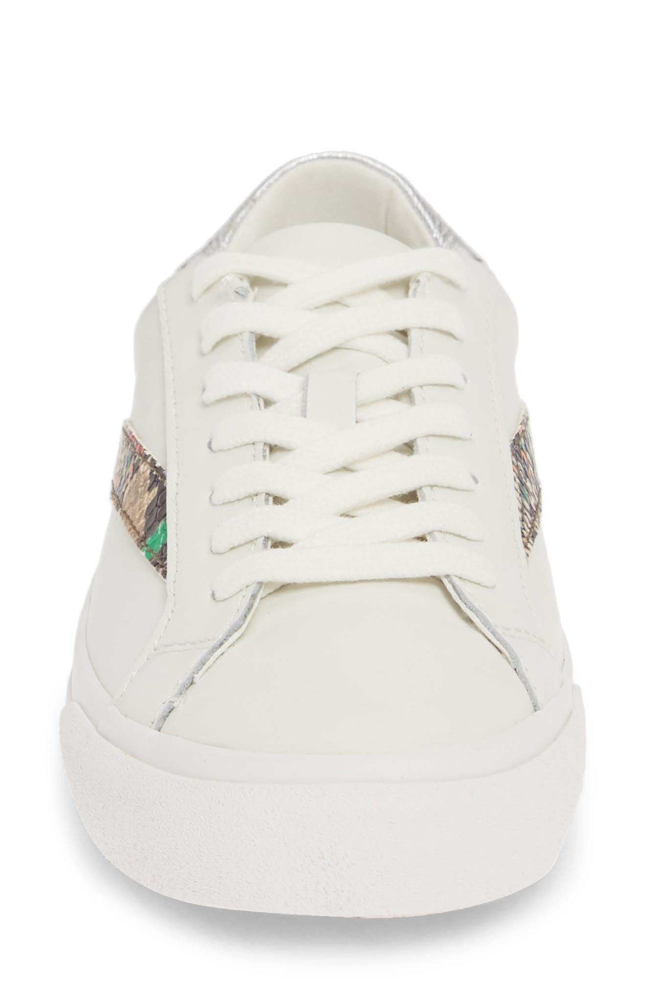 MADEWELL, Delia Sneaker, Alternate thumbnail 5, color, LIGHT UMBER MULTI