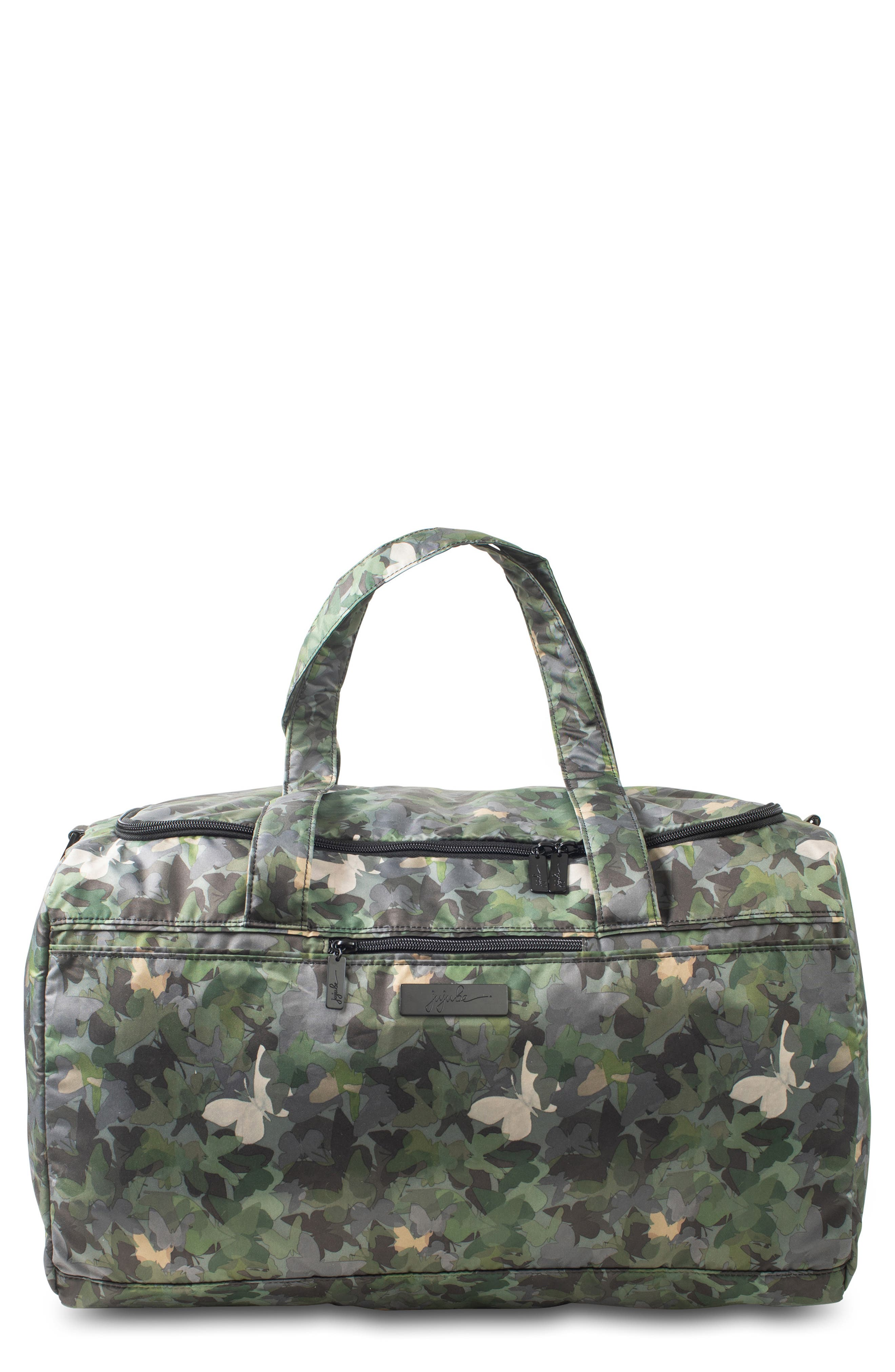 JU-JU-BE Onyx Super Star Diaper Bag, Main, color, BUTTERFLY FOREST