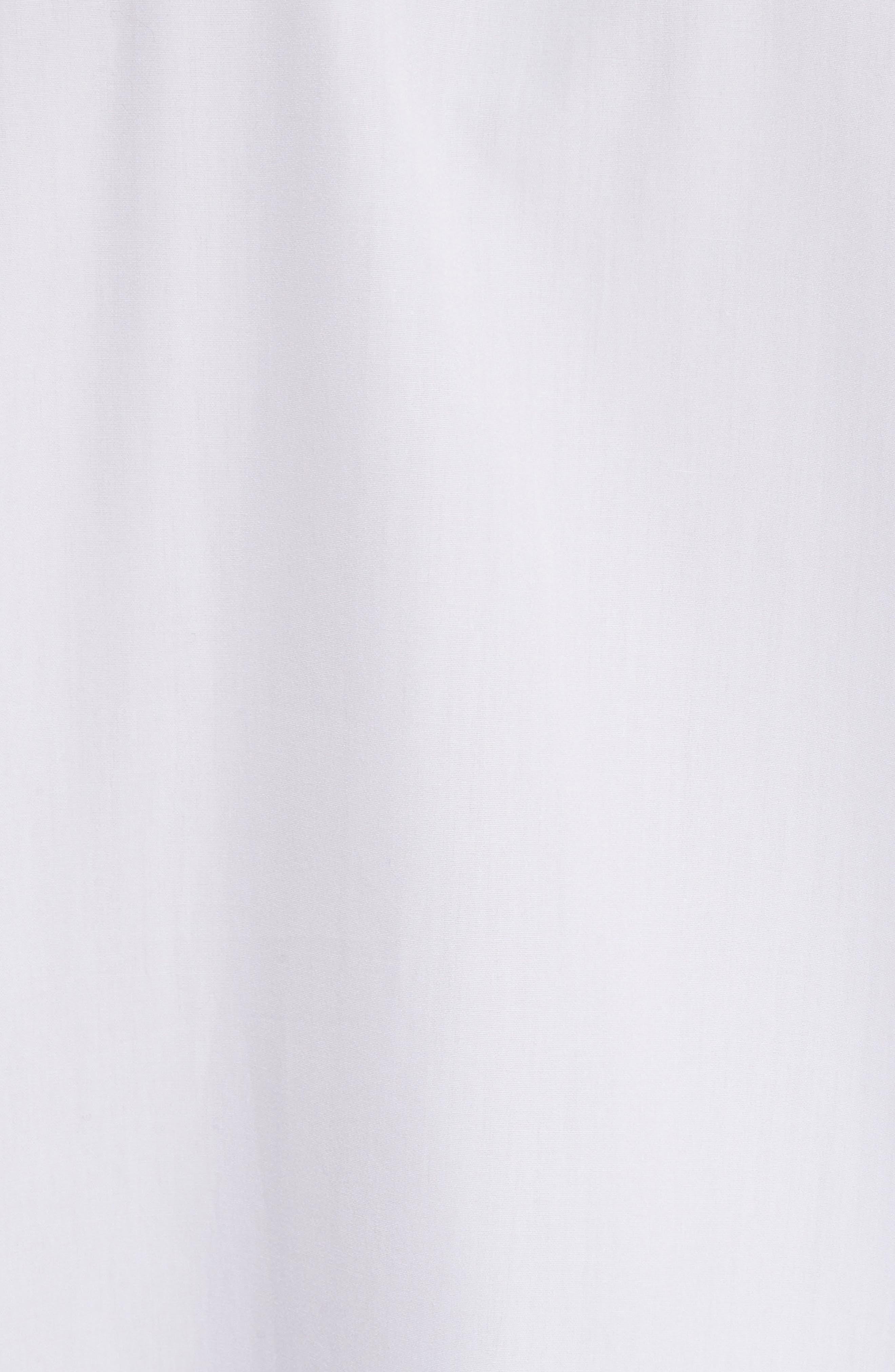 COMME DES GARÇONS PLAY, Woven Cotton Shirt, Alternate thumbnail 2, color, WHITE