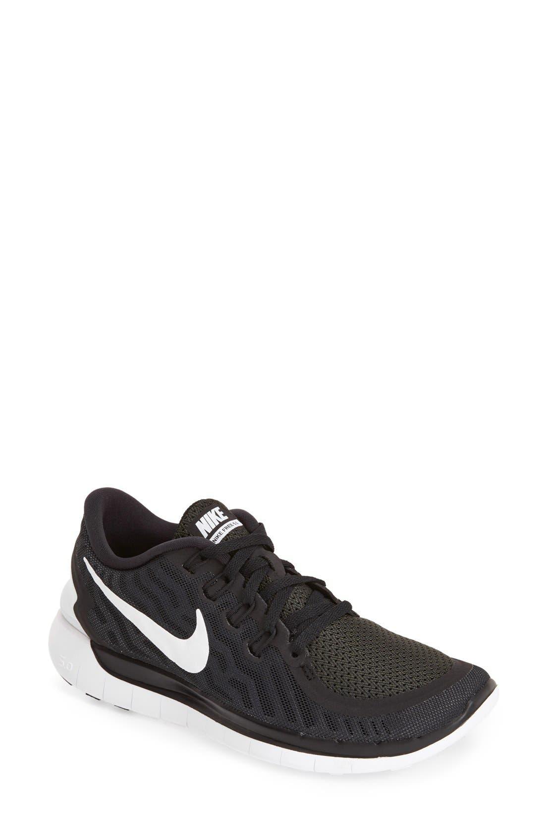 NIKE 'Free 5.0' Running Shoe, Main, color, 002