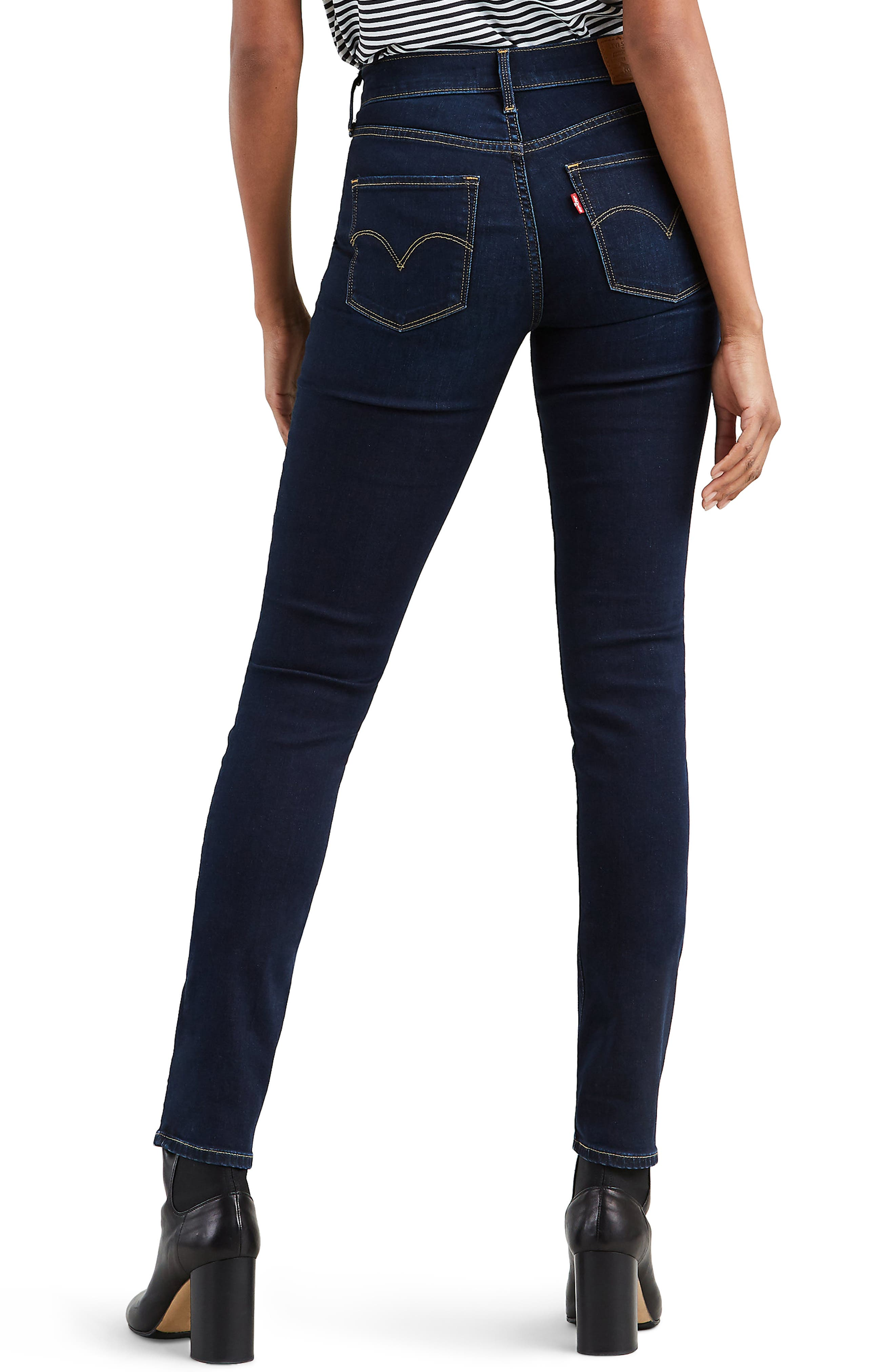 LEVI'S<SUP>®</SUP>, 311<sup>™</sup> Shaping Skinny Jeans, Alternate thumbnail 2, color, ARCADE NIGHT