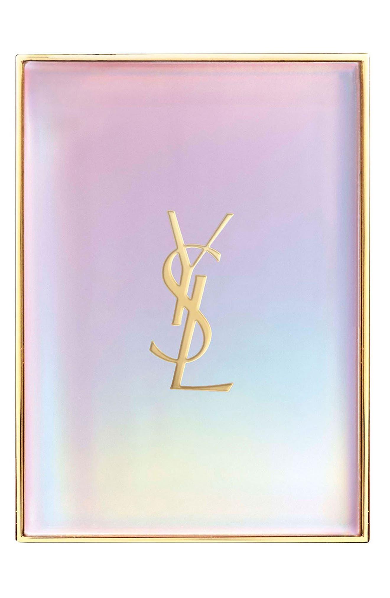 YVES SAINT LAURENT, Shimmer Rush Face Palette, Alternate thumbnail 2, color, 000
