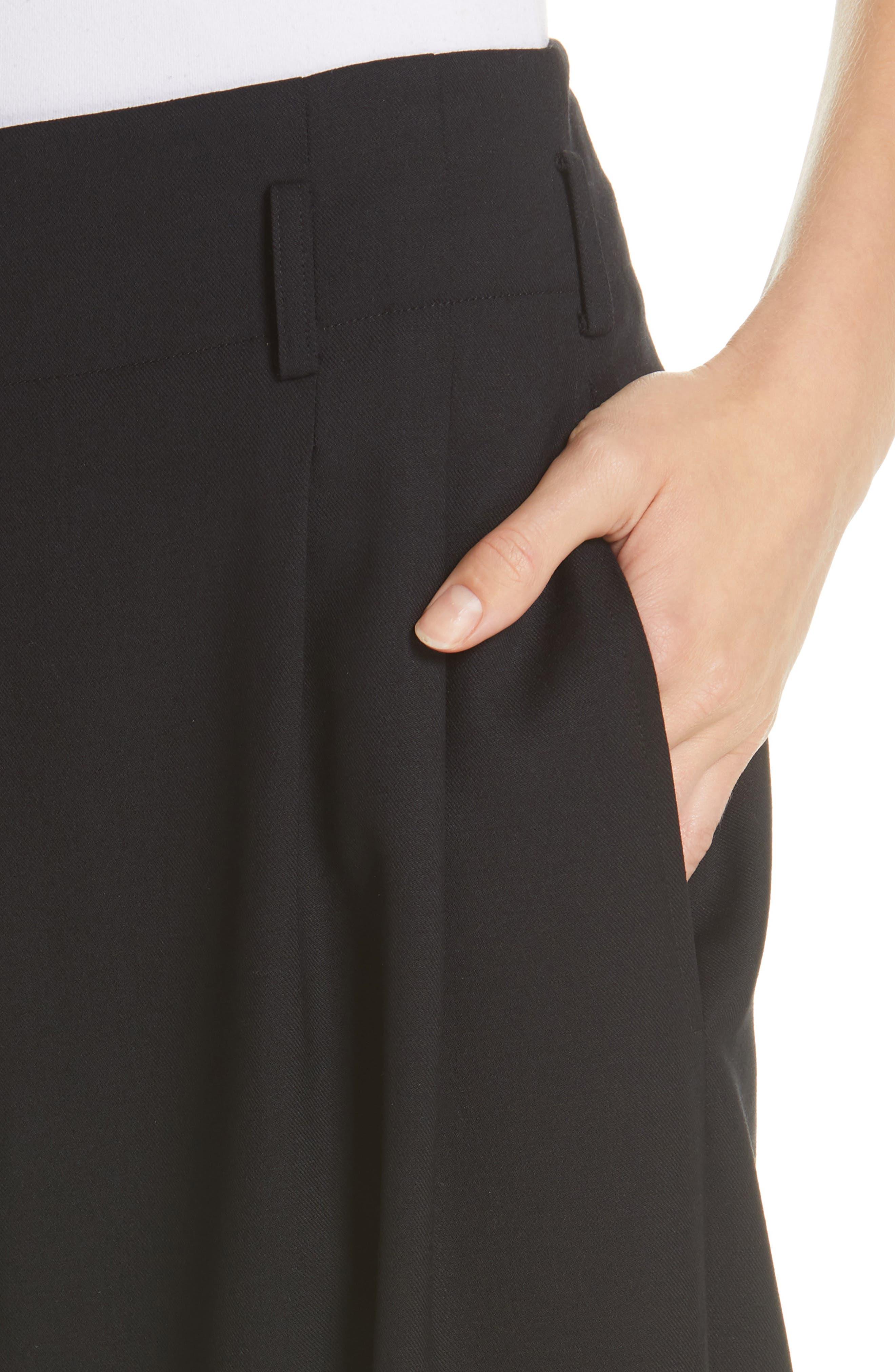 NILI LOTAN, Wynona Harem Pants, Alternate thumbnail 5, color, BLACK