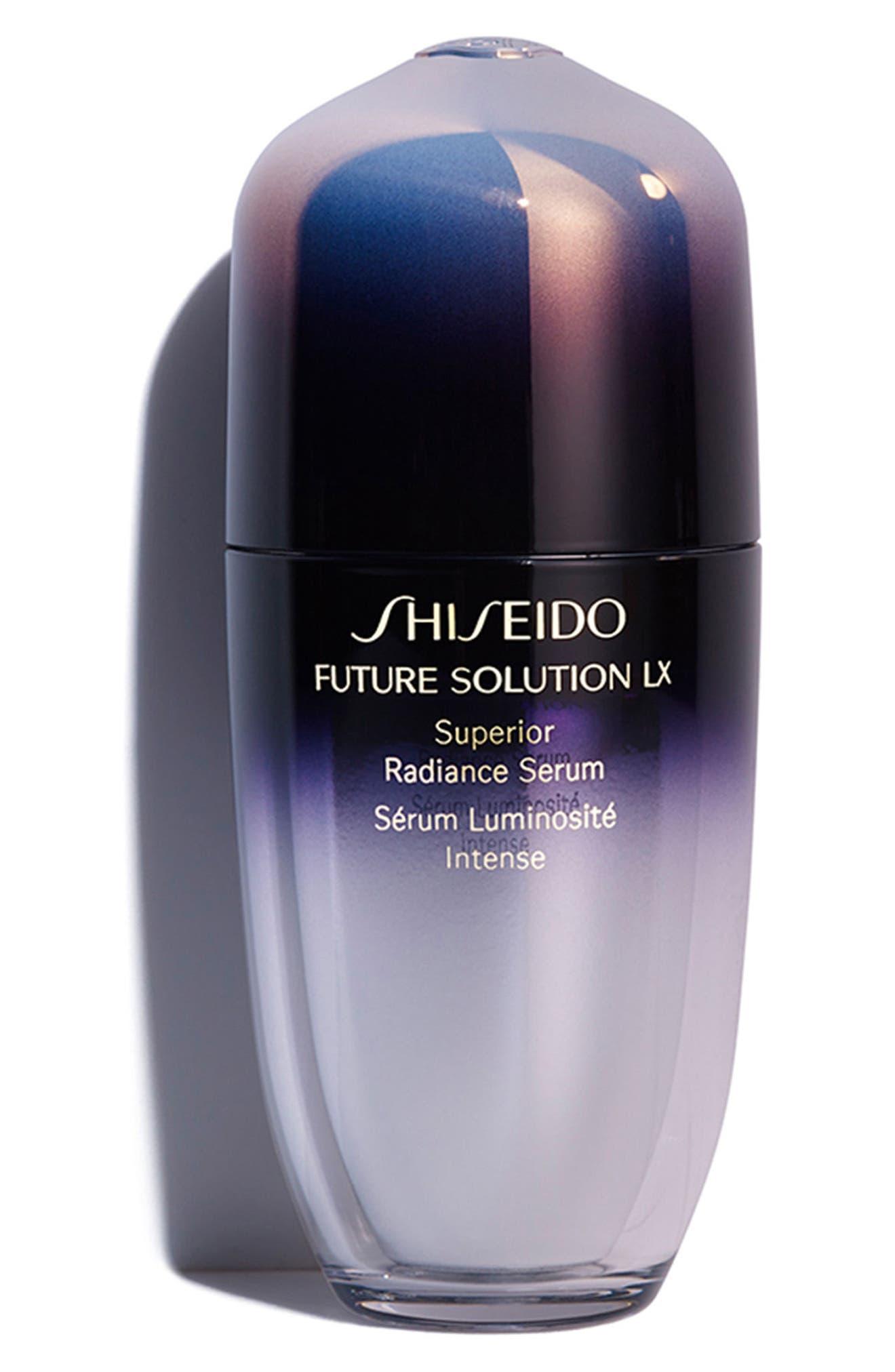SHISEIDO, Future Solution LX Superior Radiance Serum, Main thumbnail 1, color, NO COLOR