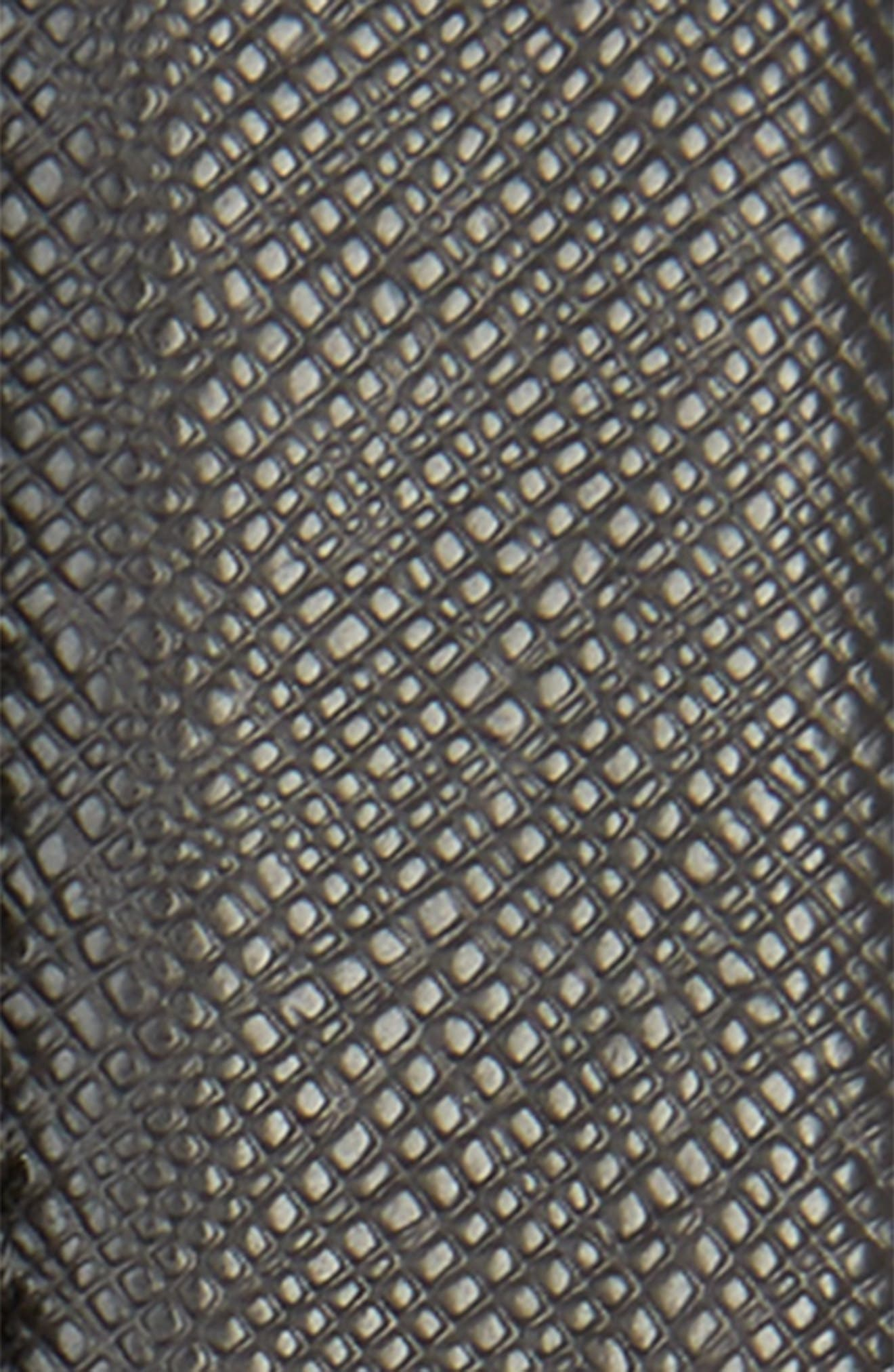 MONTBLANC, Meisterstuck Reversible Sartorial Leather Belt, Alternate thumbnail 3, color, BLACK
