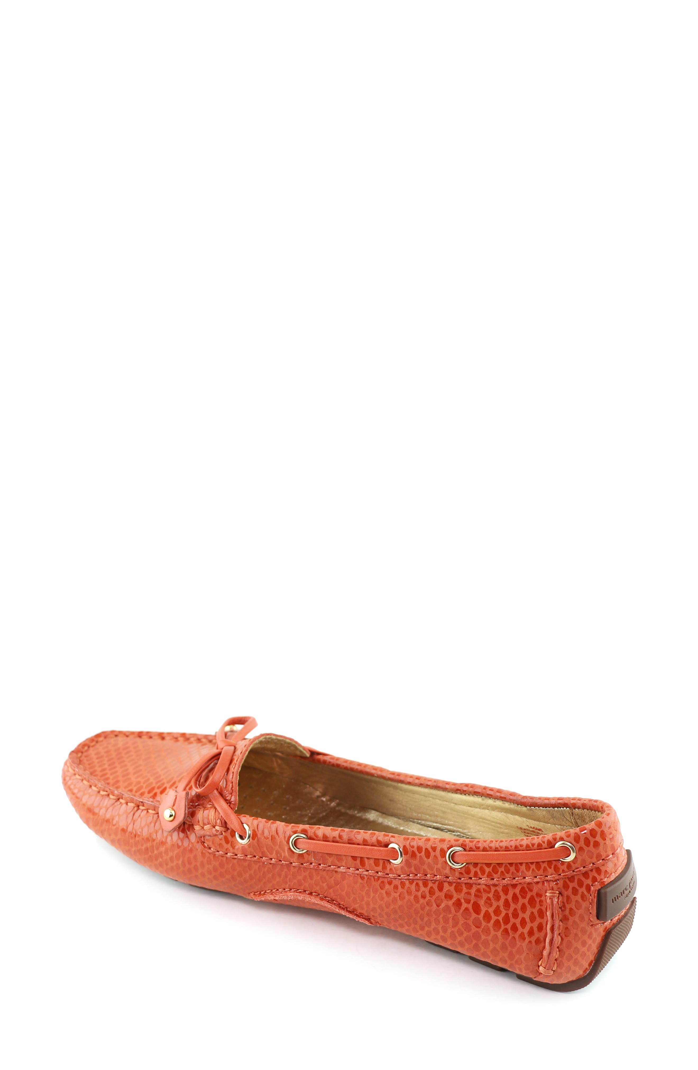 MARC JOSEPH NEW YORK, 'Cypress Hill' Loafer, Alternate thumbnail 2, color, CORAL SNAKE PRINT LEATHER