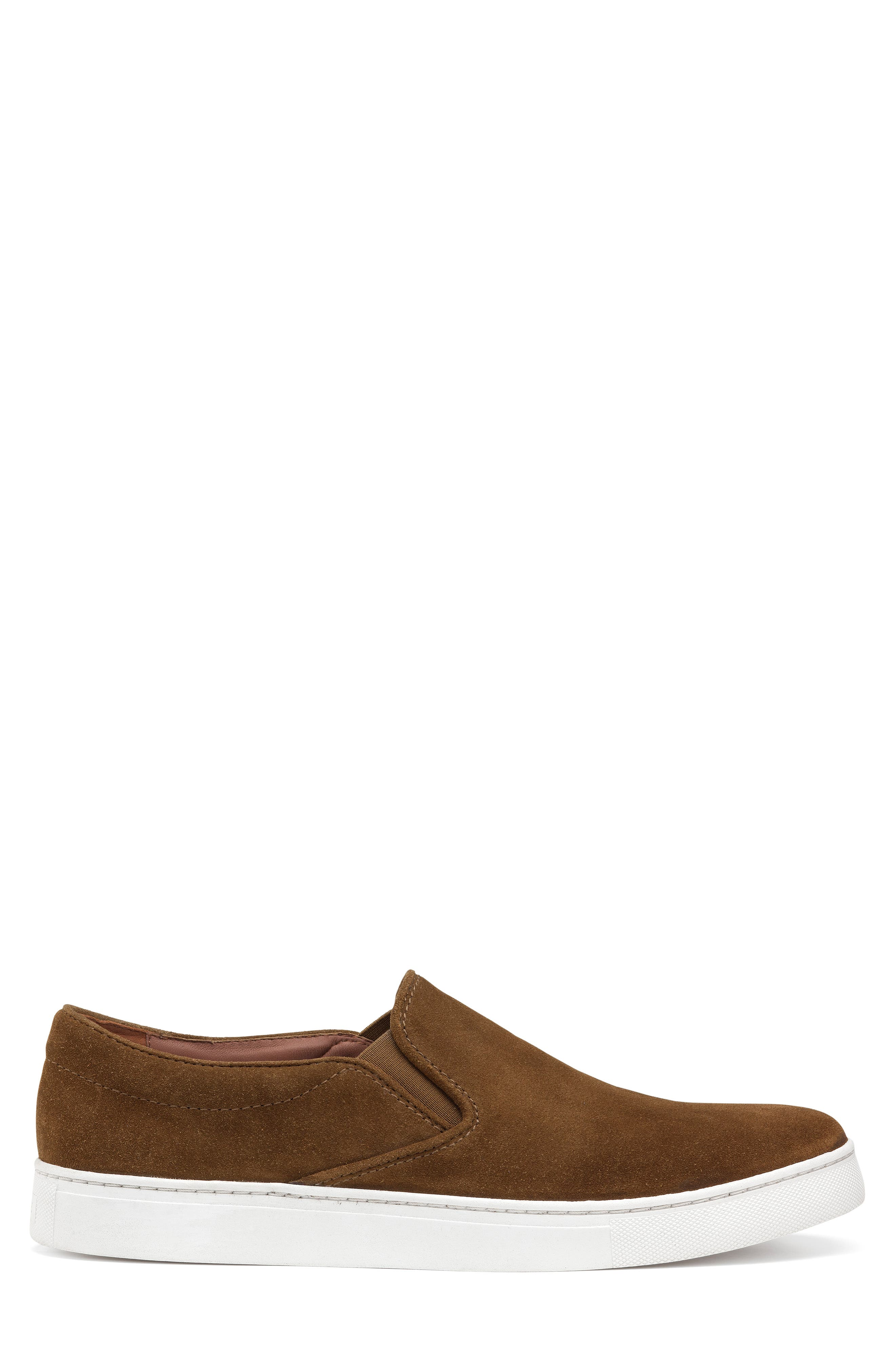 TRASK, Alex Slip-On Sneaker, Alternate thumbnail 3, color, SNUFF SUEDE