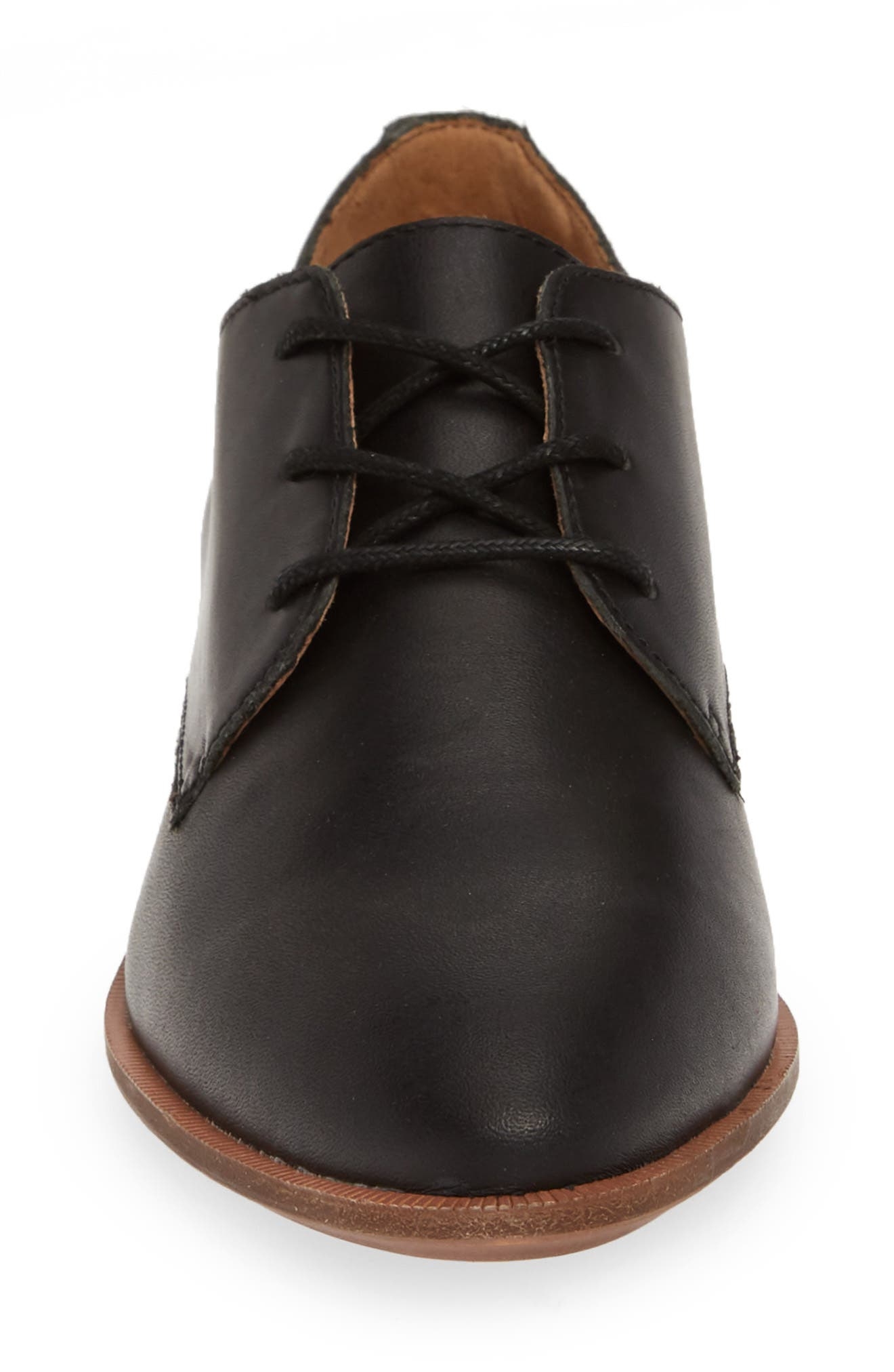 MADEWELL, The Frances Derby, Alternate thumbnail 4, color, TRUE BLACK