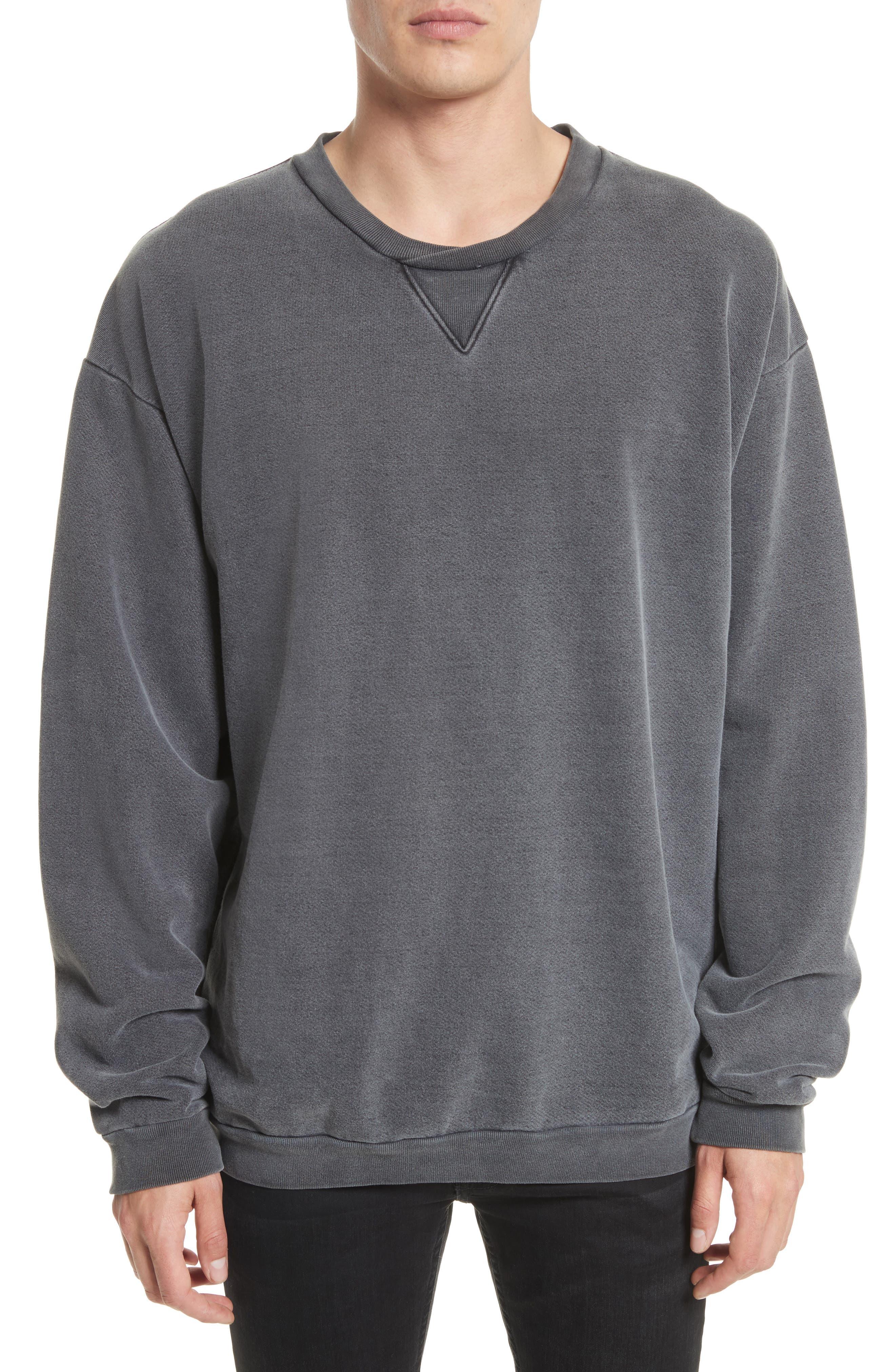 DRIFTER Norton Sweatshirt, Main, color, BLACK