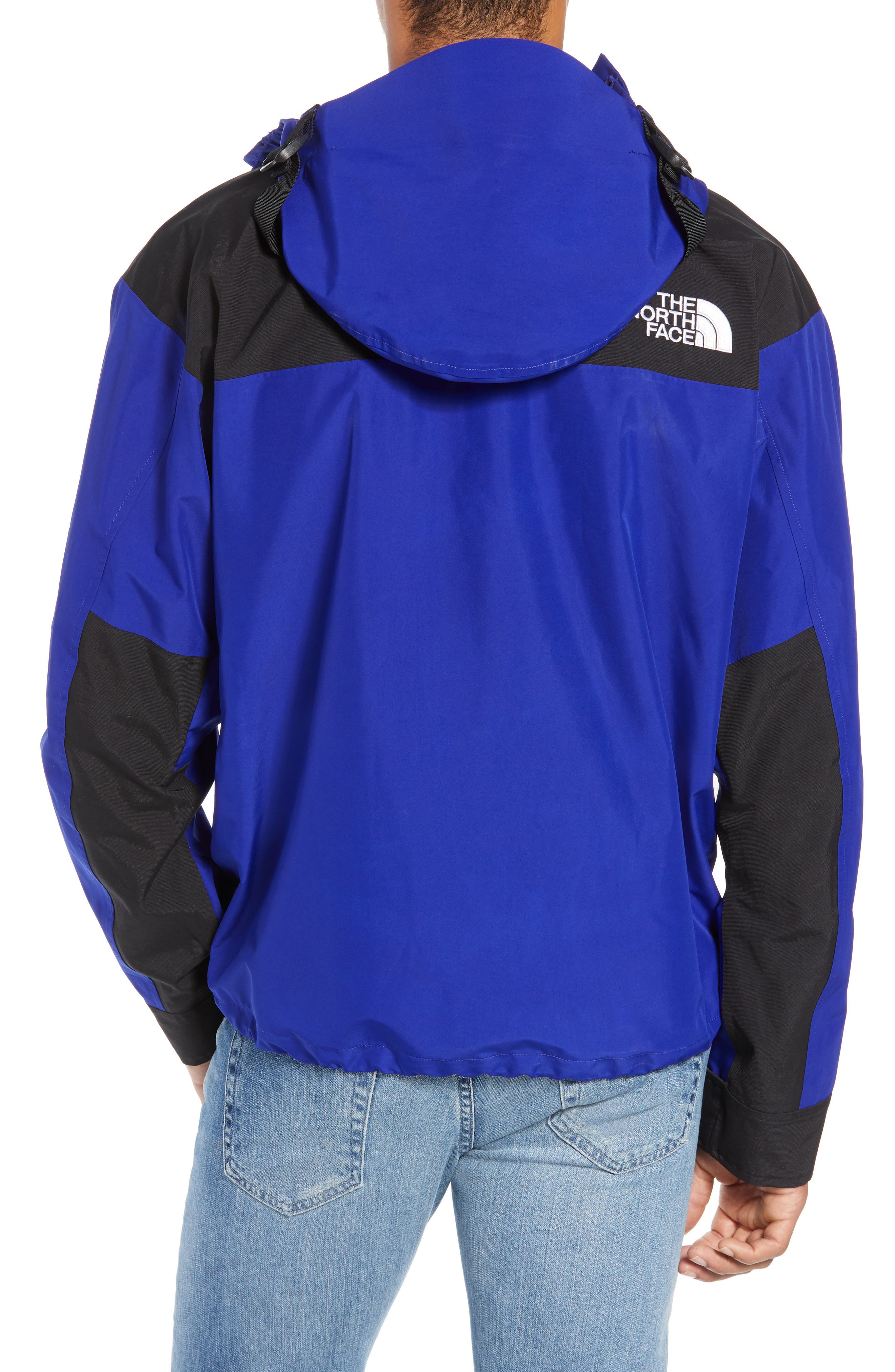 THE NORTH FACE, 1990 Mountain Hooded Jacket, Alternate thumbnail 2, color, AZTEC BLUE