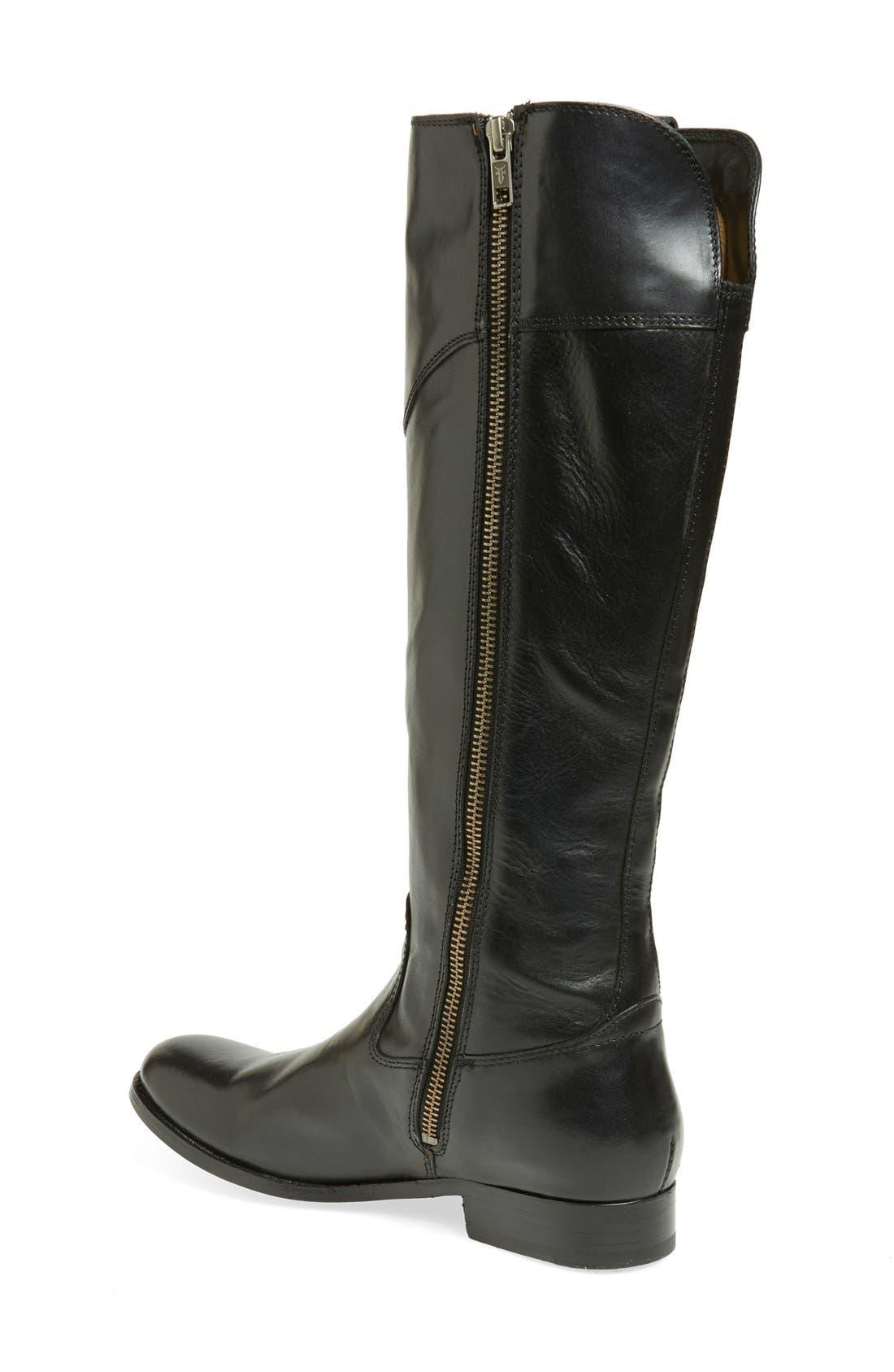 FRYE, 'Melissa Tab' Knee High Boot, Main thumbnail 1, color, 001