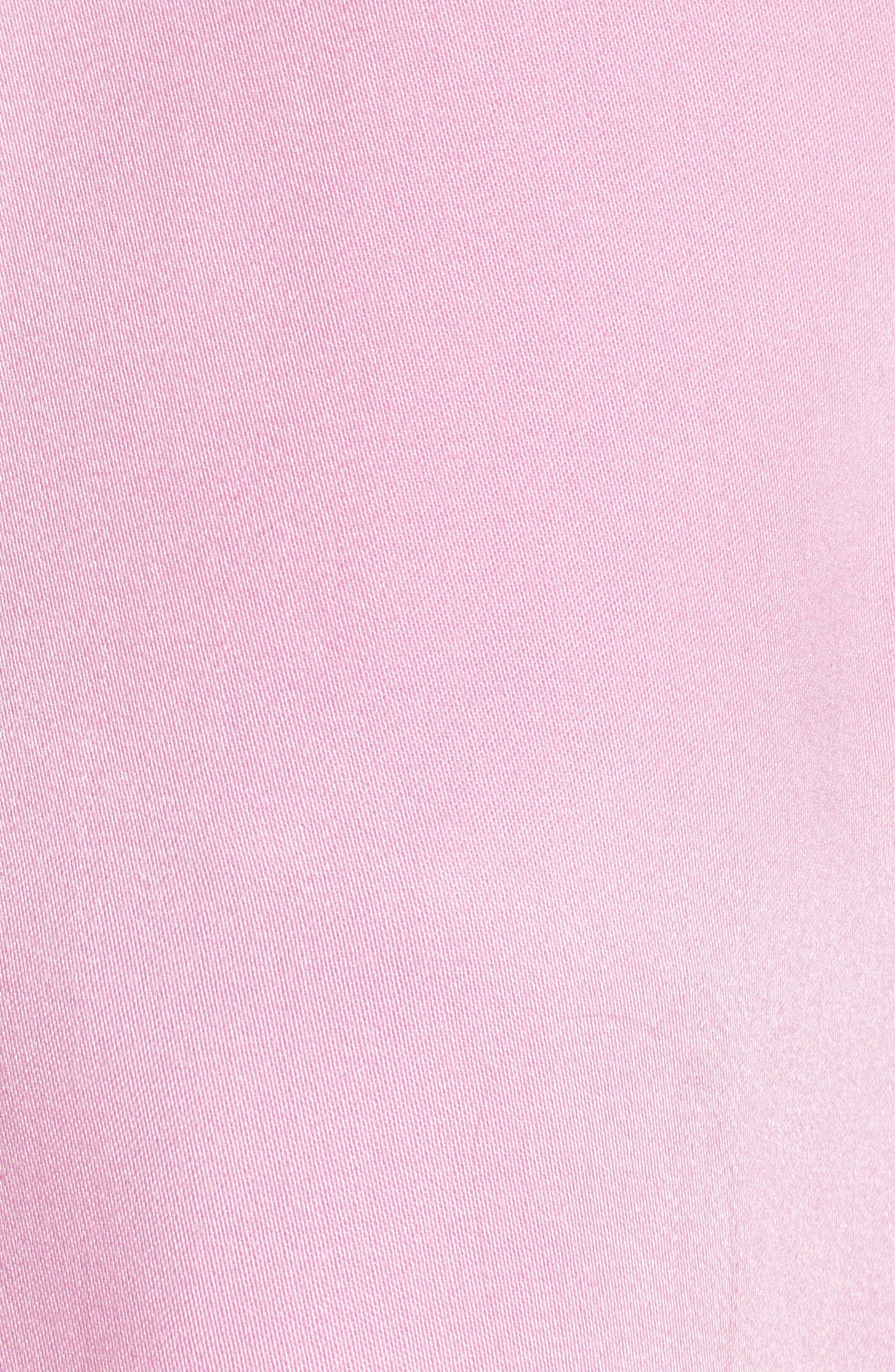 SOMETHING NAVY, Easy Woven Top, Alternate thumbnail 7, color, PINK CHIFFON