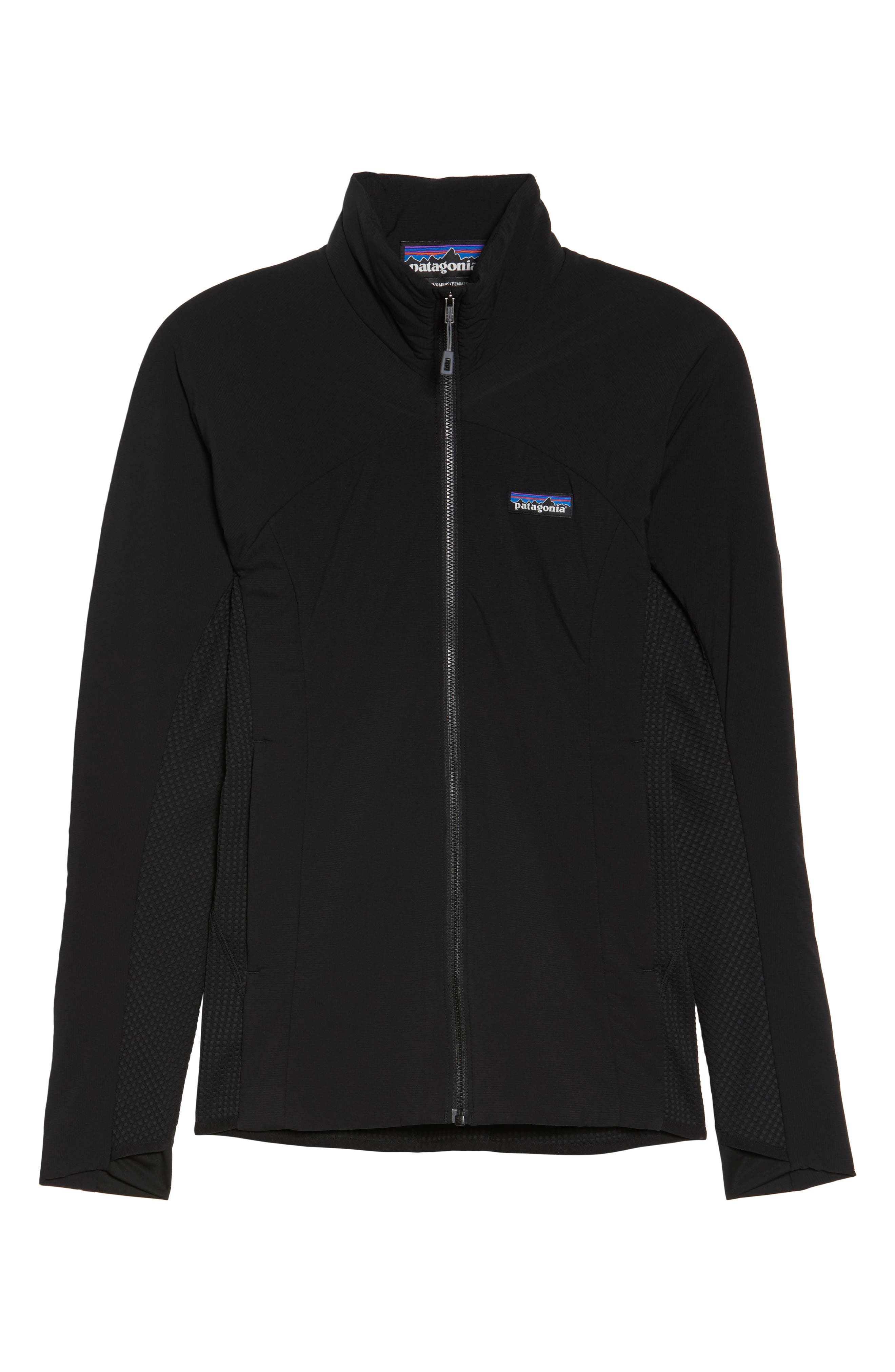 PATAGONIA, Nano-Air<sup>®</sup> Light Hybrid Jacket, Alternate thumbnail 5, color, BLACK