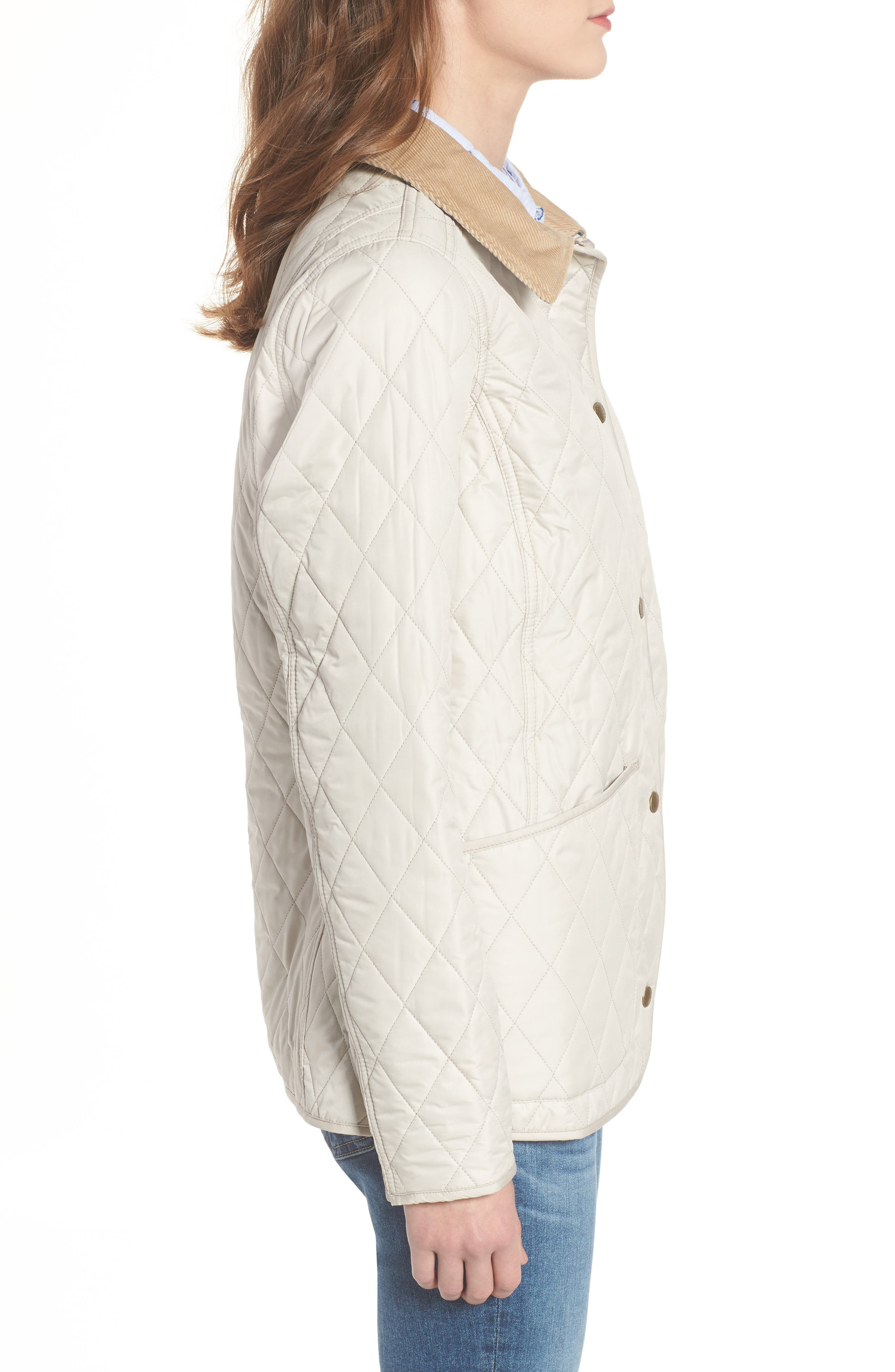 BARBOUR, Spring Annandale Quilted Jacket, Alternate thumbnail 4, color, 270