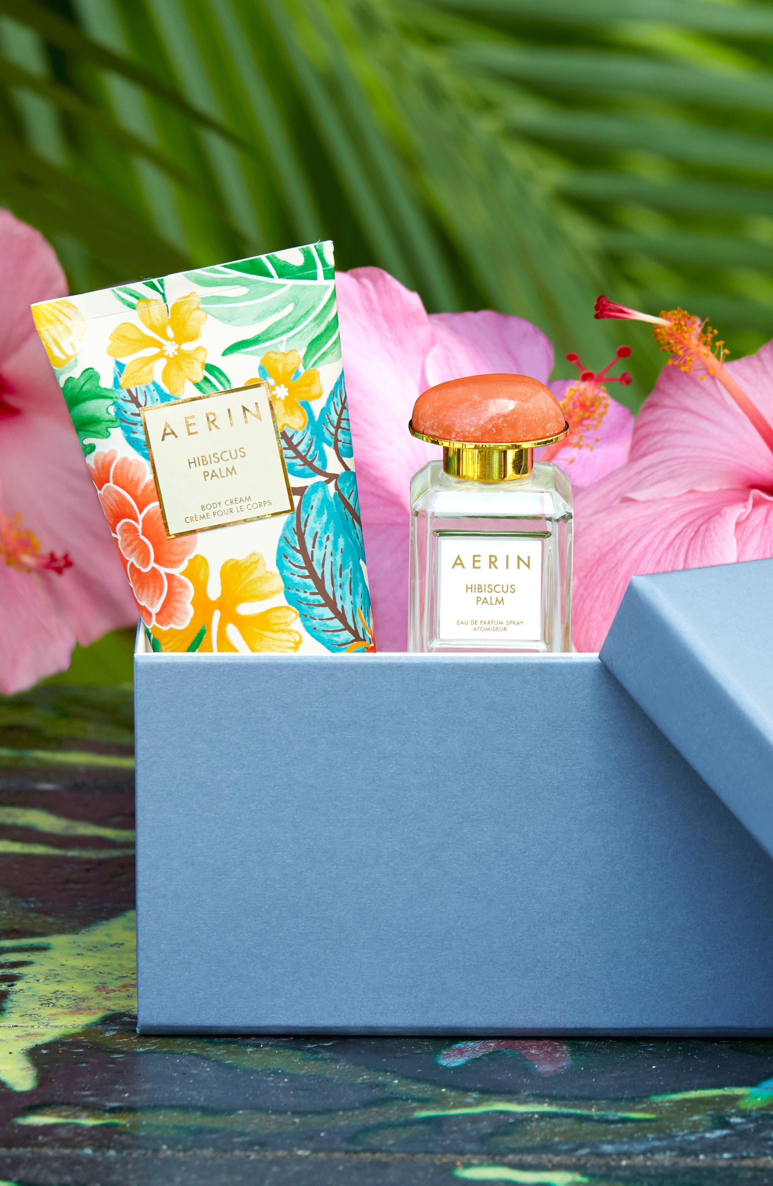 ESTÉE LAUDER, Aerin Beauty Hibiscus Palm Eau de Parfum, Alternate thumbnail 7, color, NO COLOR