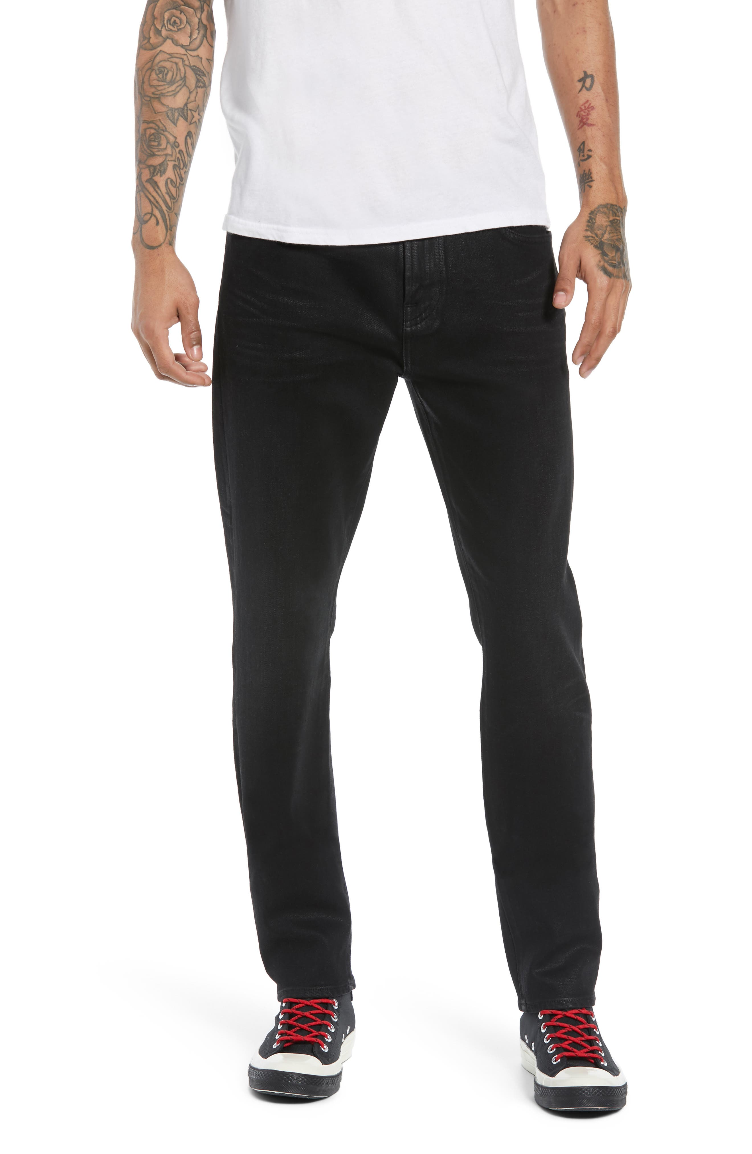 7 FOR ALL MANKIND<SUP>®</SUP> Ryley Skinny Fit Jeans, Main, color, 004