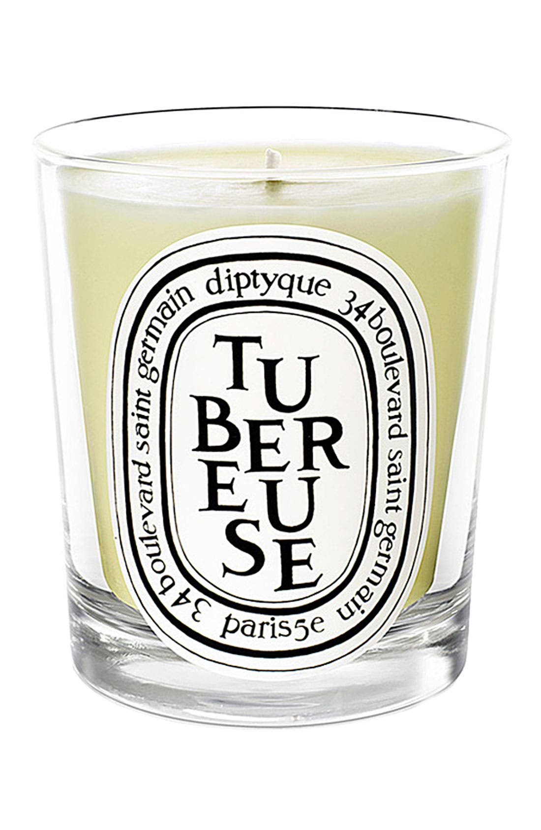 DIPTYQUE Tubereuse/Tuberose Scented Candle, Main, color, NO COLOR