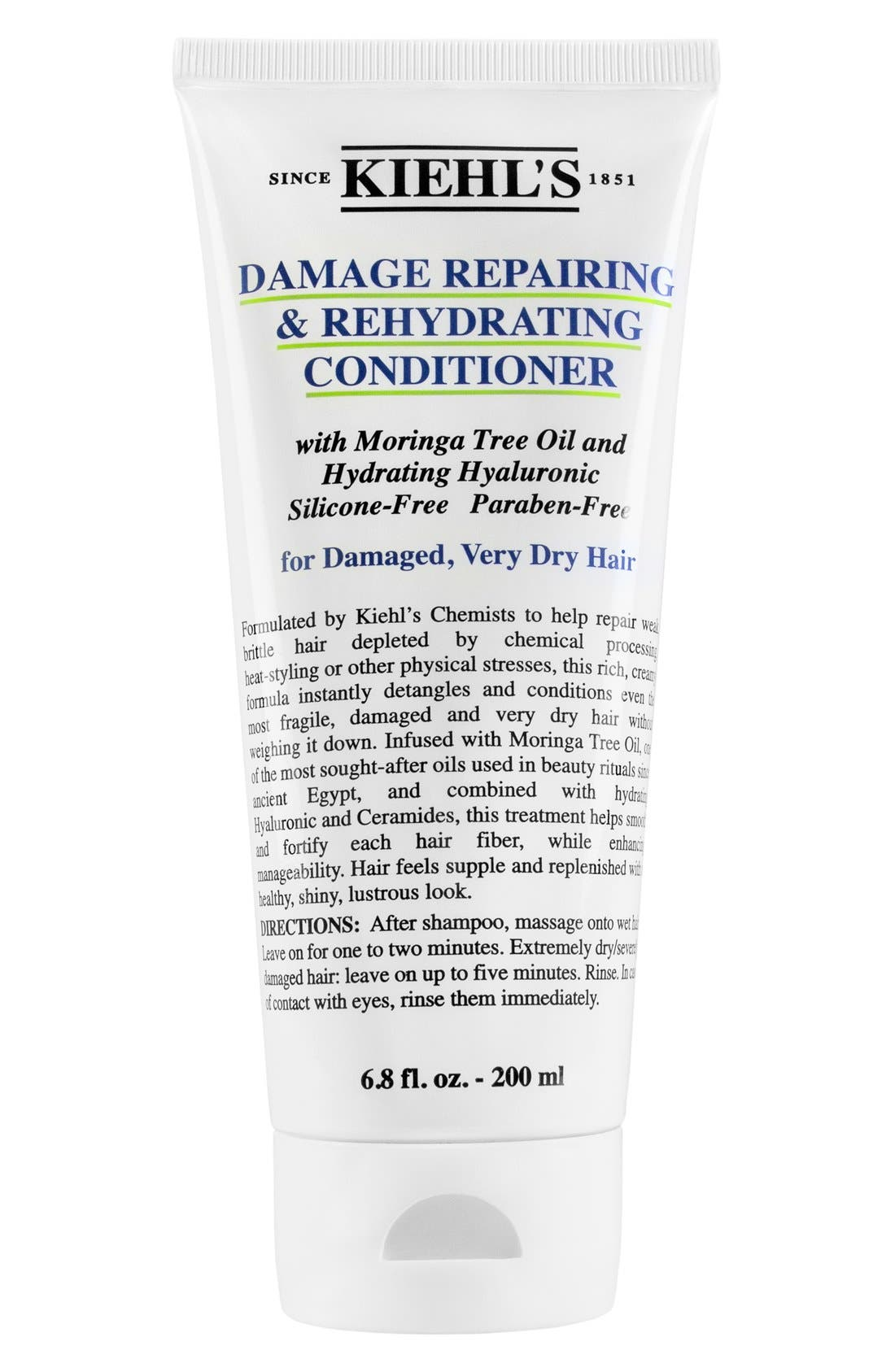 KIEHL'S SINCE 1851, Damage Repairing & Rehydrating Conditioner, Main thumbnail 1, color, NO COLOR